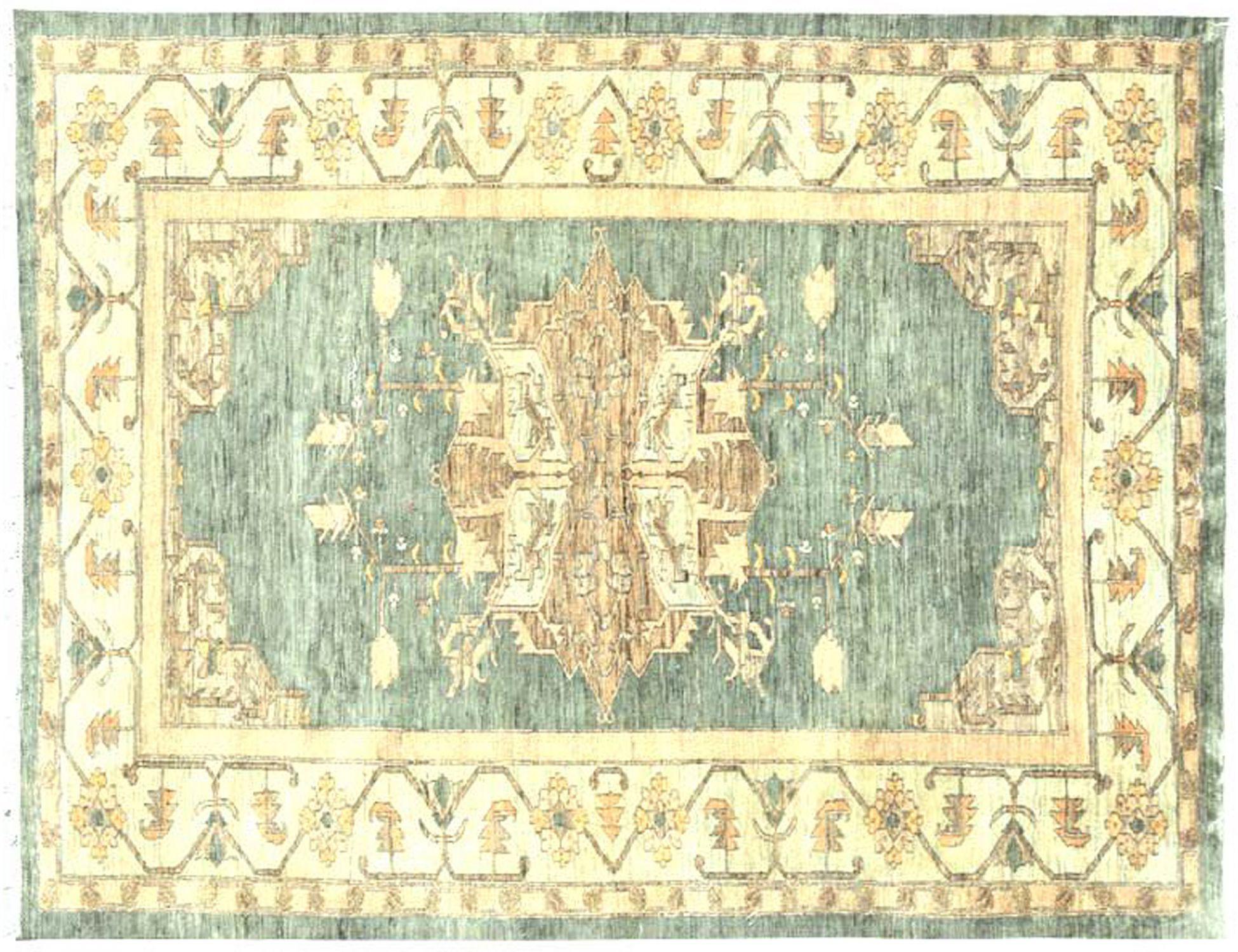Perserteppich  blau <br/>254 x 194 cm