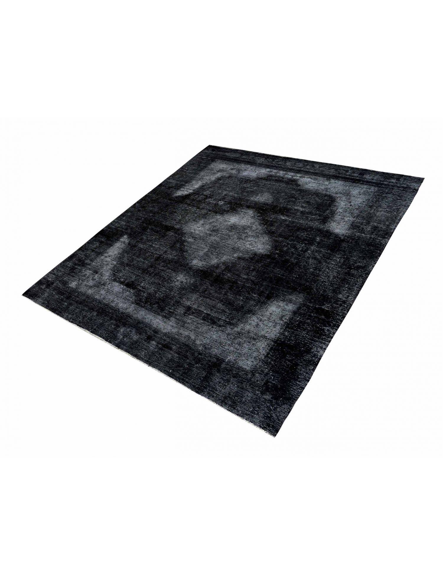 Persisk Vintagetæppe  sort <br/>368 x 263 cm