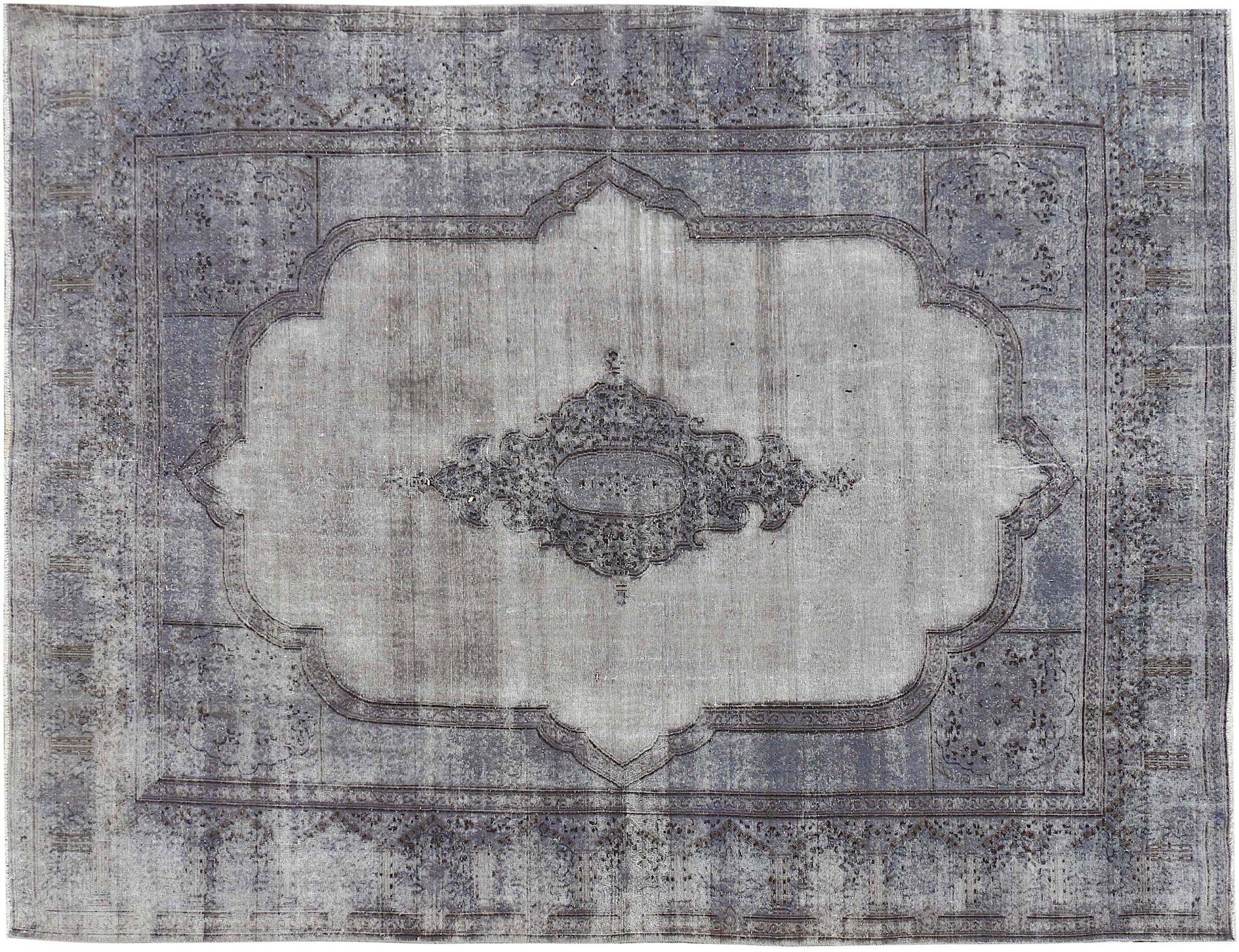 Vintagetæppe  blå <br/>430 x 313 cm