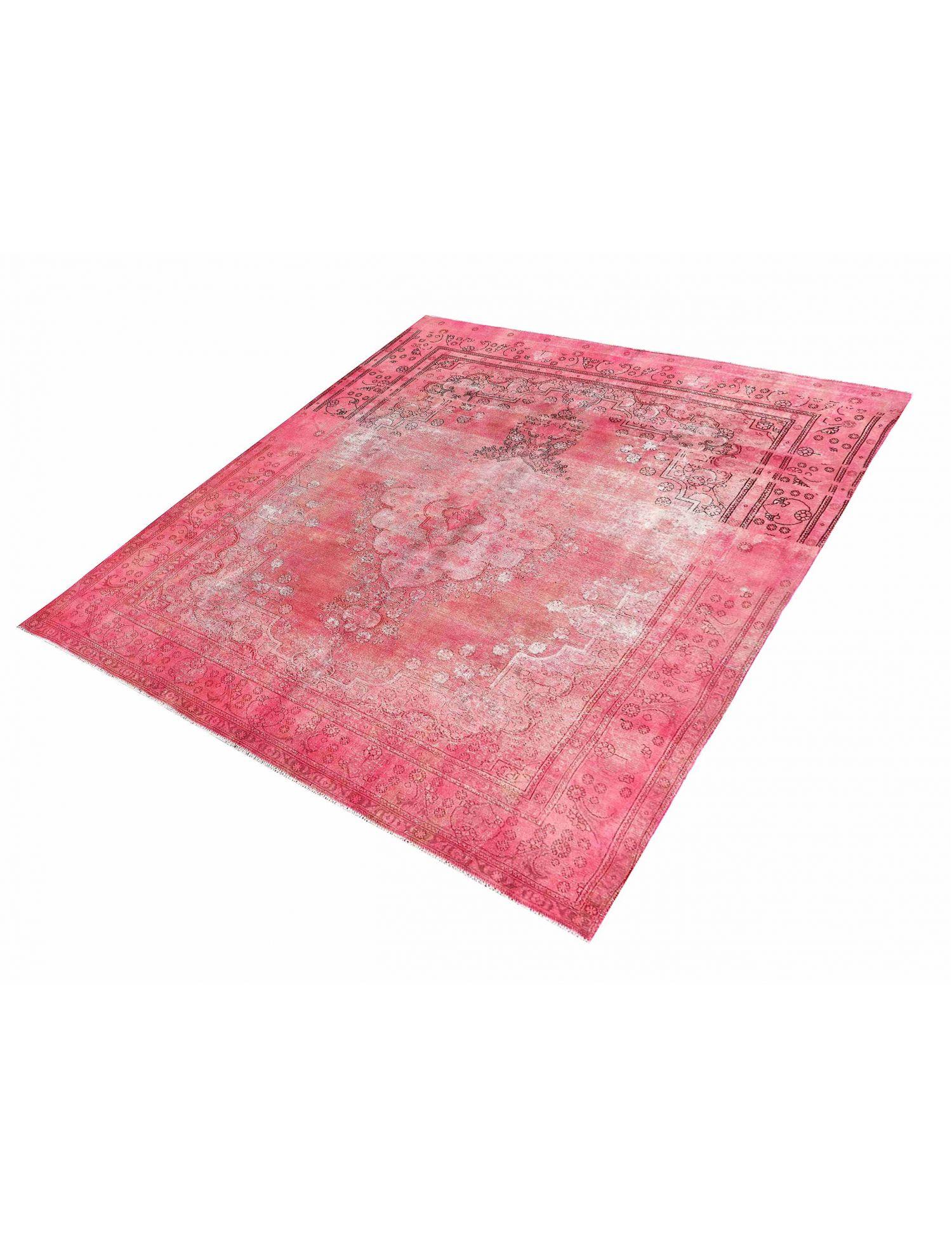 Persisk Vintagetæppe  rose <br/>391 x 291 cm