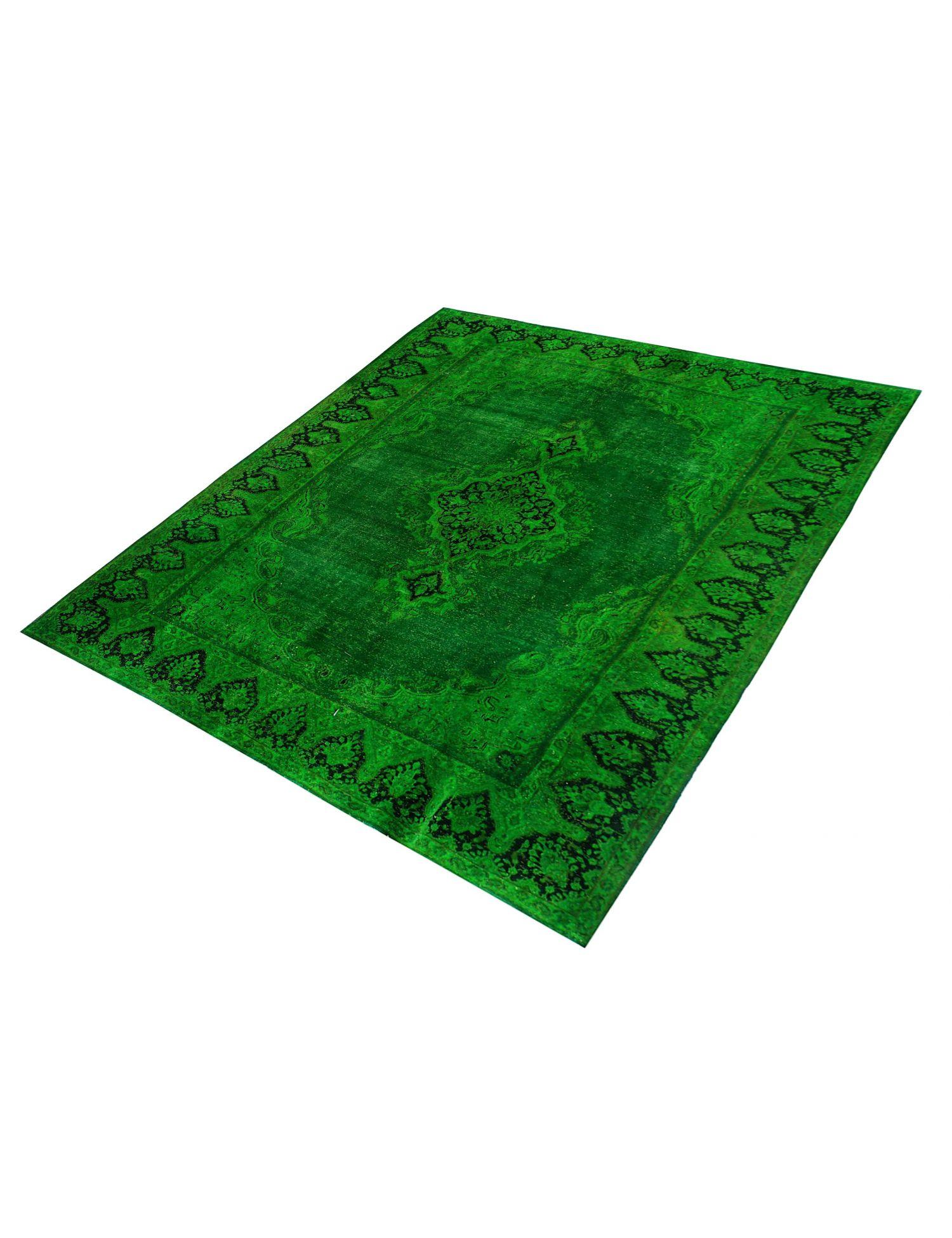 Vintage Tapijt  groen <br/>343 x 232 cm