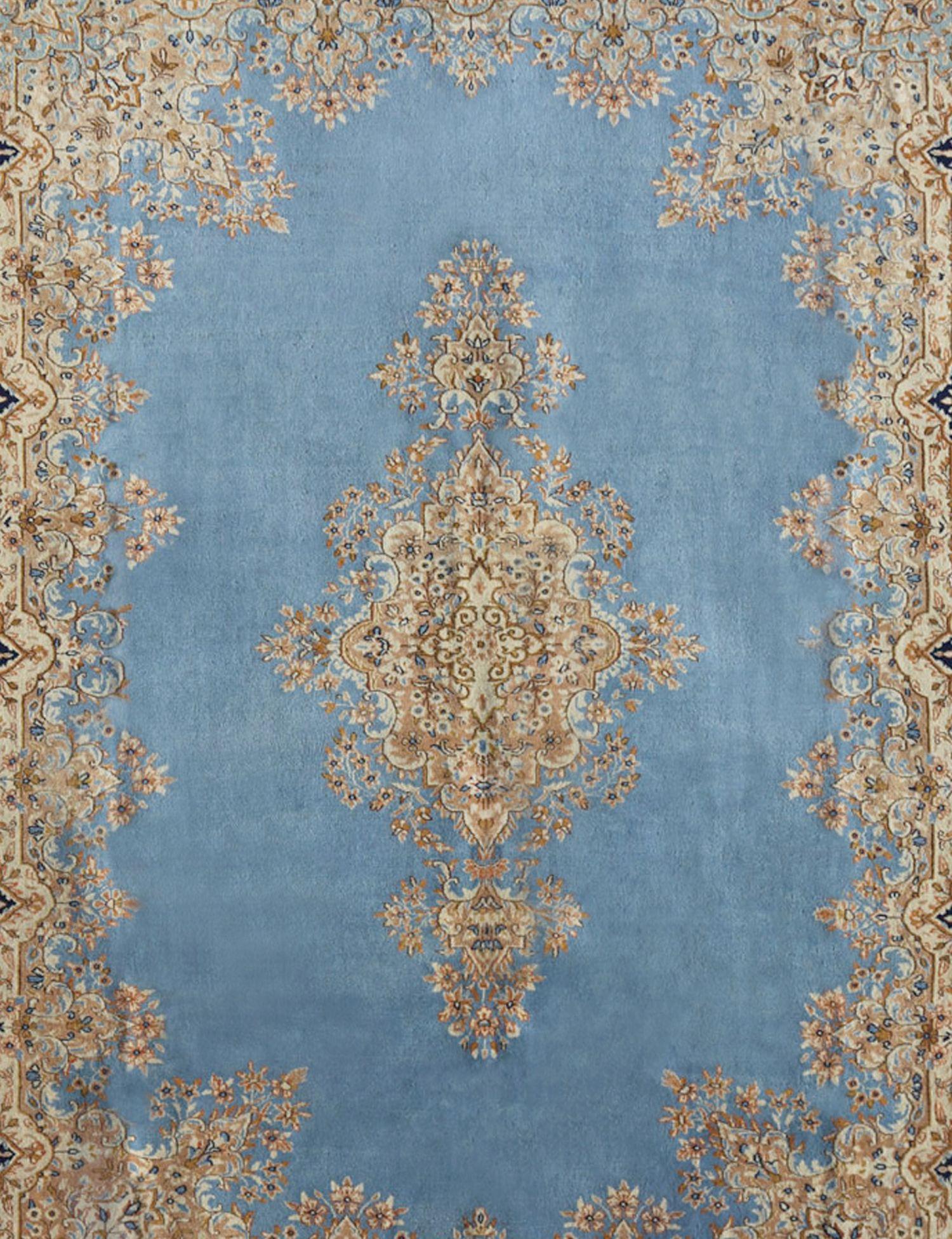 Perserteppich Kerman  blau <br/>335 x 245 cm