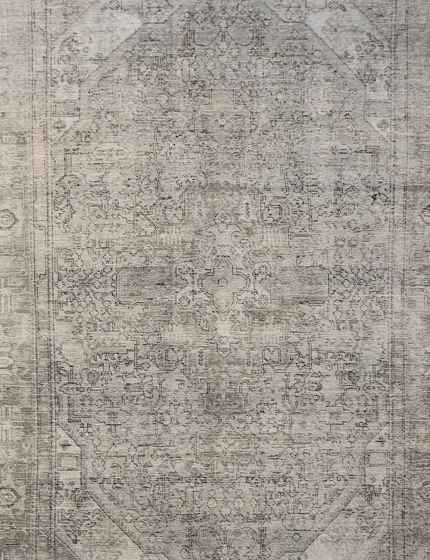 Tappeto Vintage  grigo <br/>287 x 189 cm
