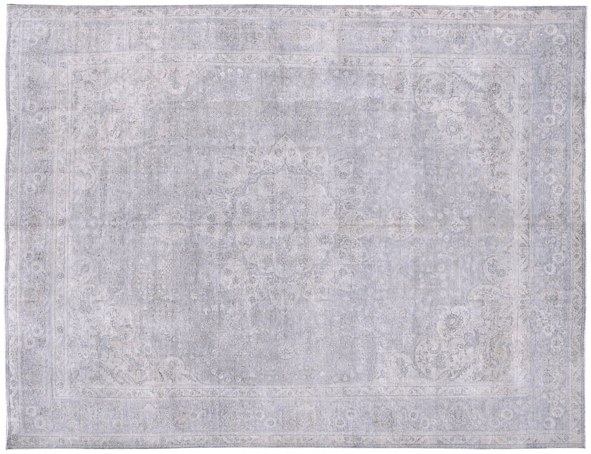Tappeto Vintage  blu <br/>372 x 290 cm