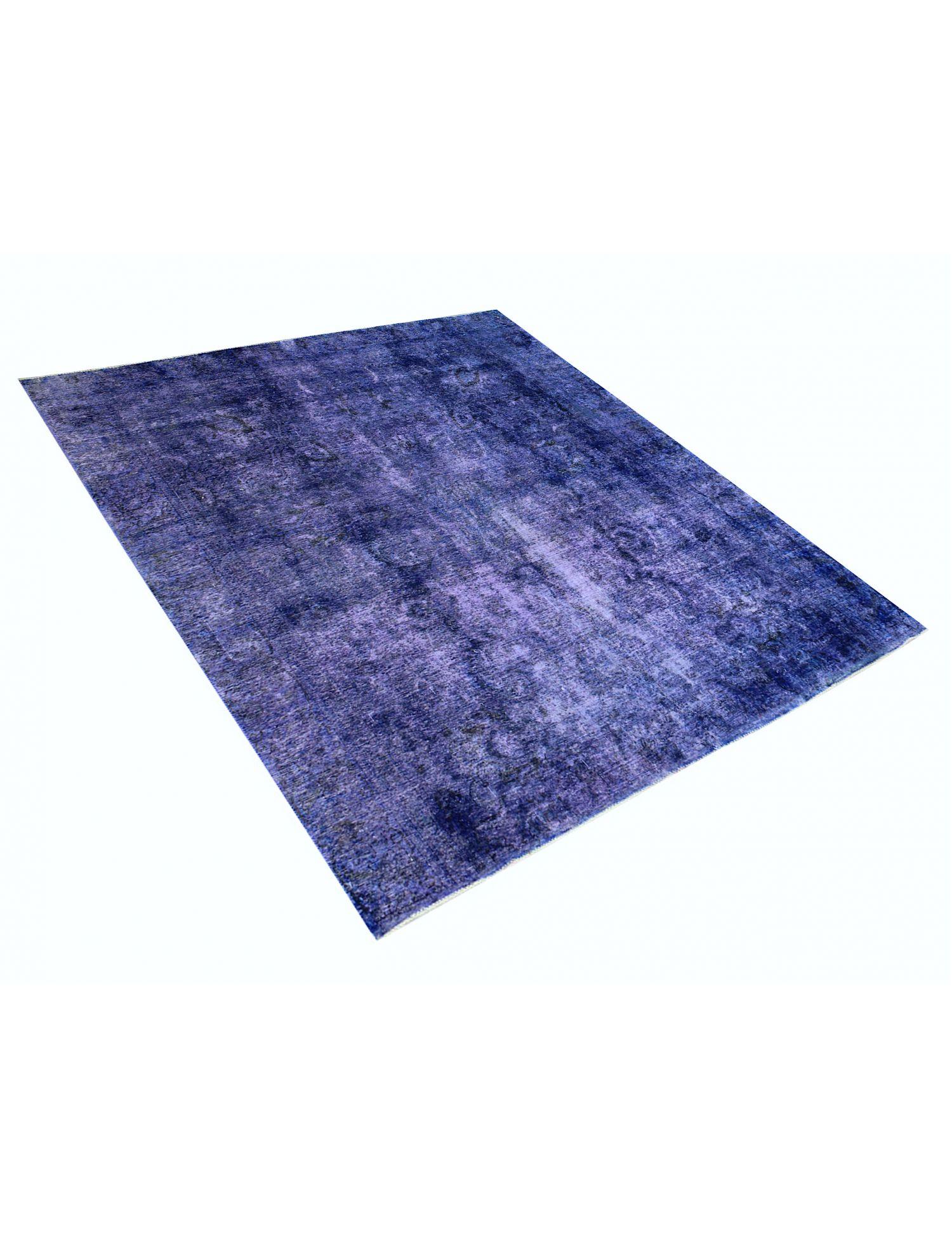 Tappeto Vintage  blu <br/>277 x 275 cm