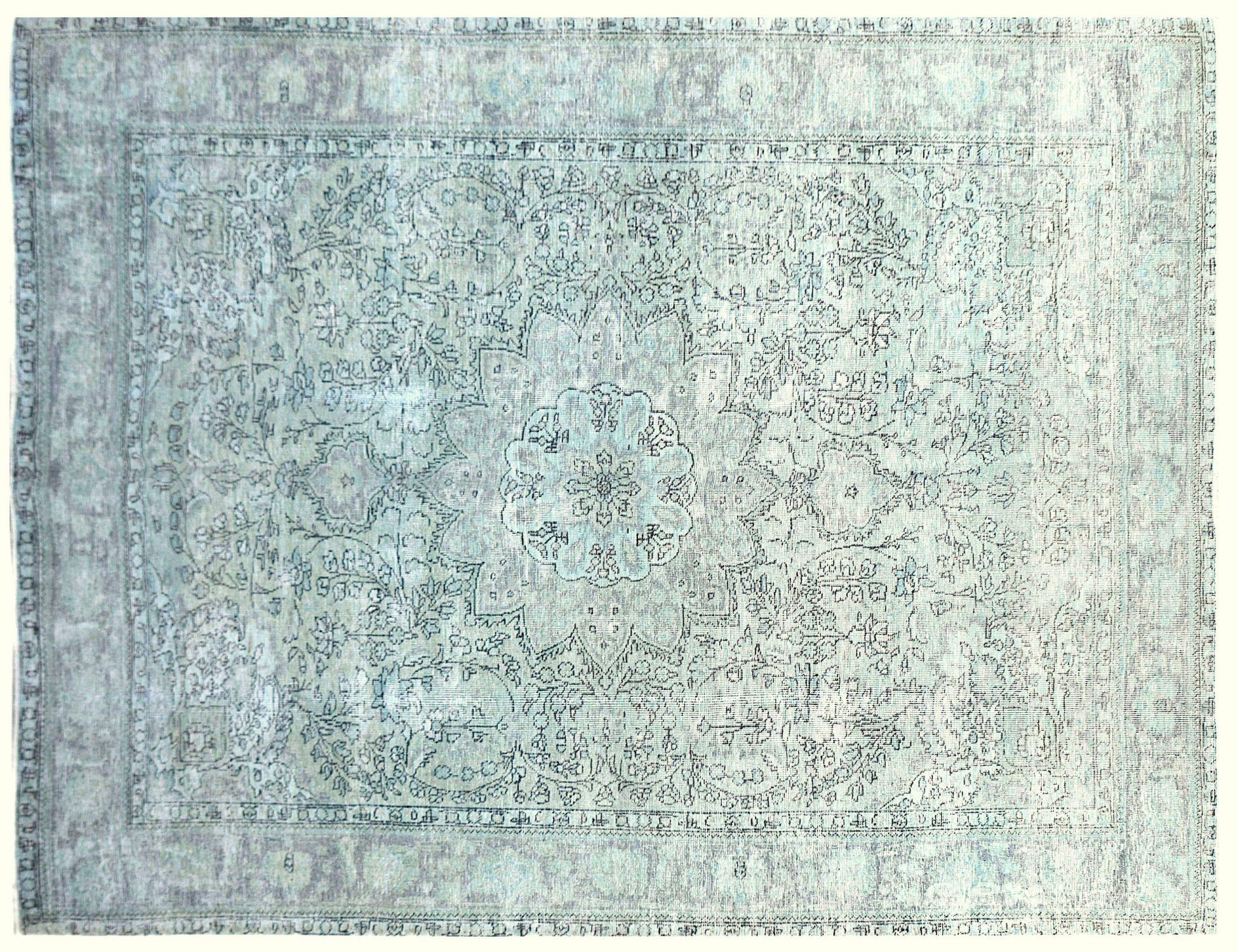 Tappeto Vintage  verde <br/>290 x 199 cm