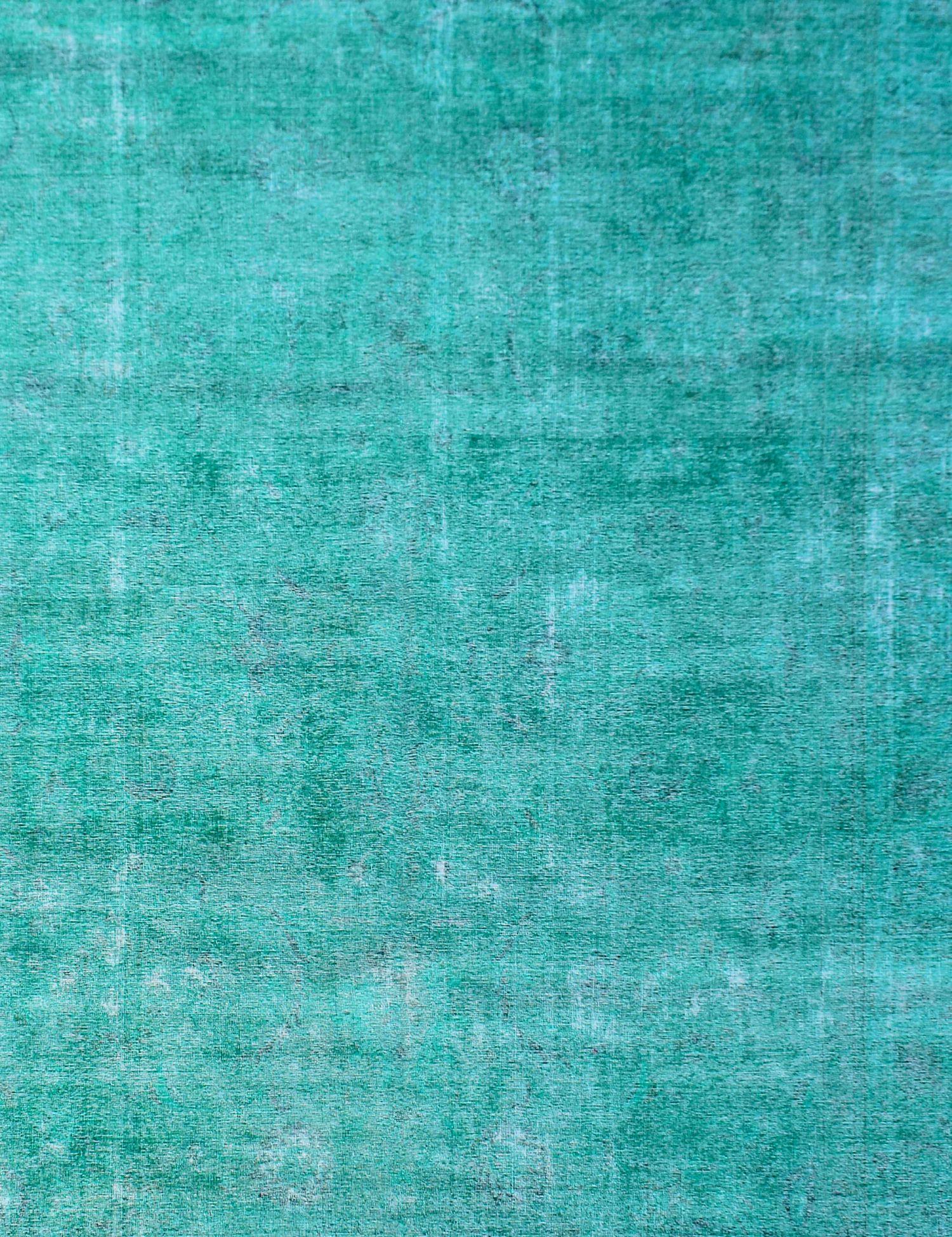 Vintage Teppich  grün <br/>373 x 267 cm