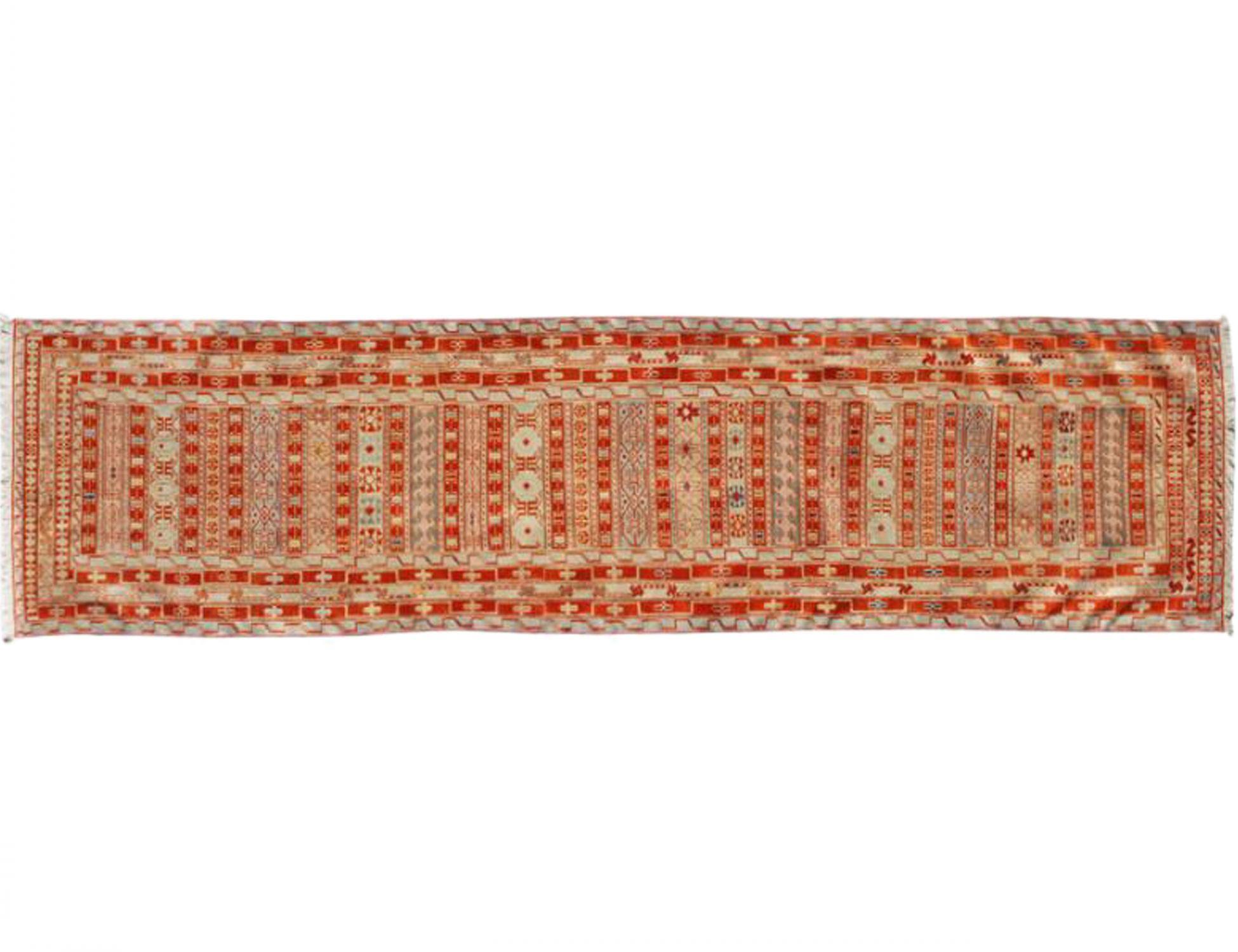 PERSIAN SILK KILIMS   <br/>283 x 74 cm
