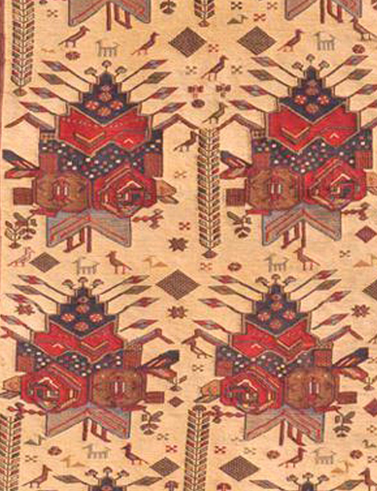 PERSIAN WOOL KILIMS  gelb <br/>200 x 122 cm