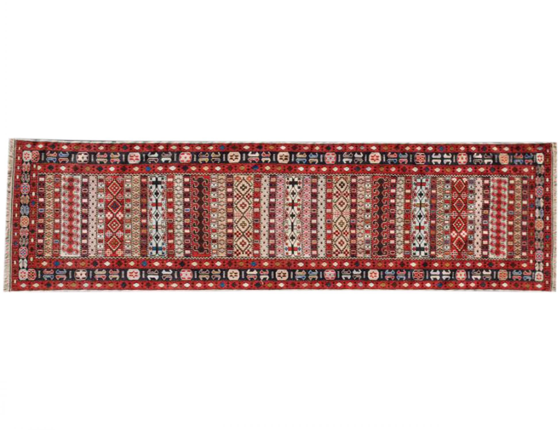 PERSIAN WOOL KILIMS    <br/>286 x 82 cm