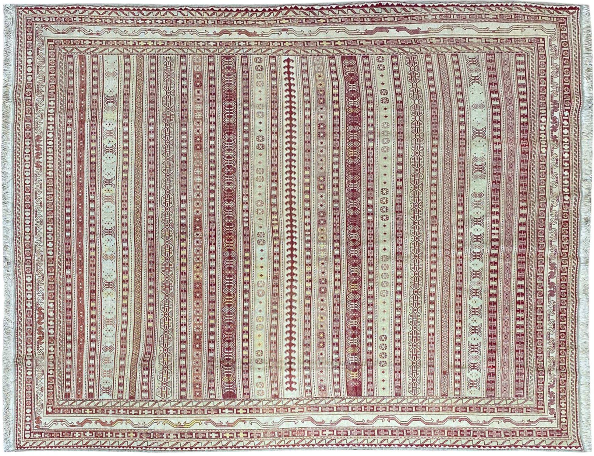PERSIAN SILK KILIMS   <br/>186 x 157 cm
