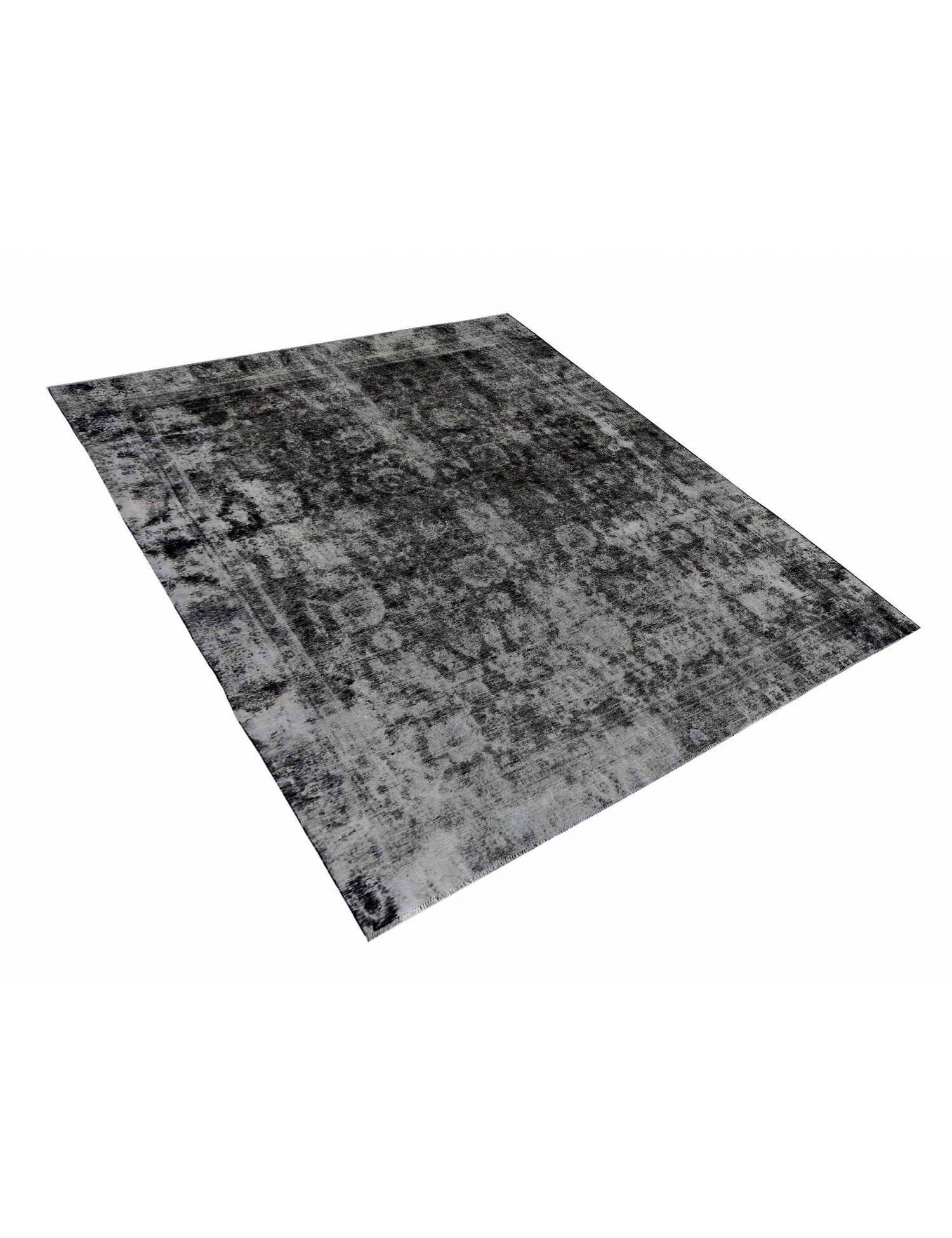 Persischer Vintage Teppich  schwarz <br/>335 x 270 cm