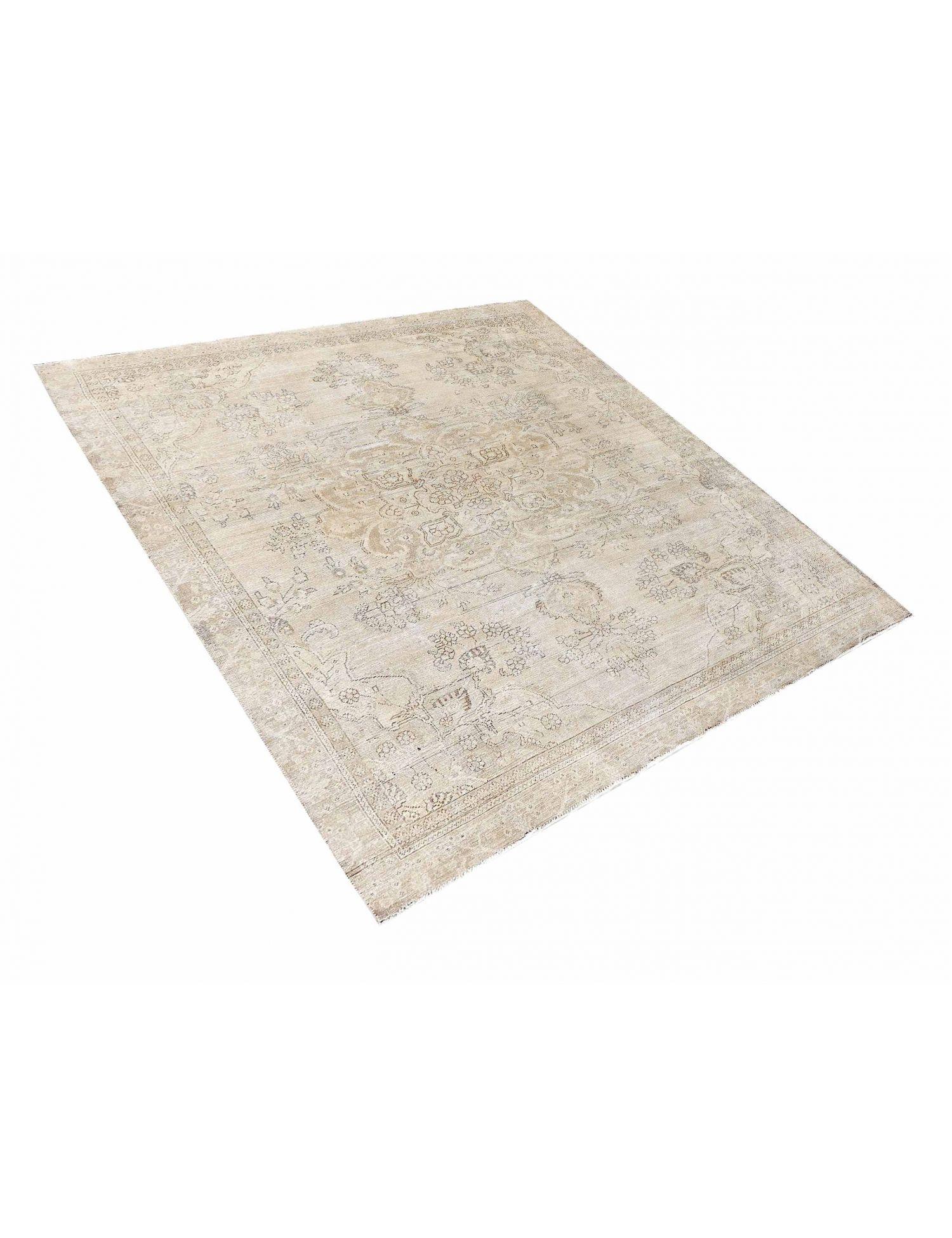 Persischer Vintage Teppich  beige <br/>350 x 260 cm