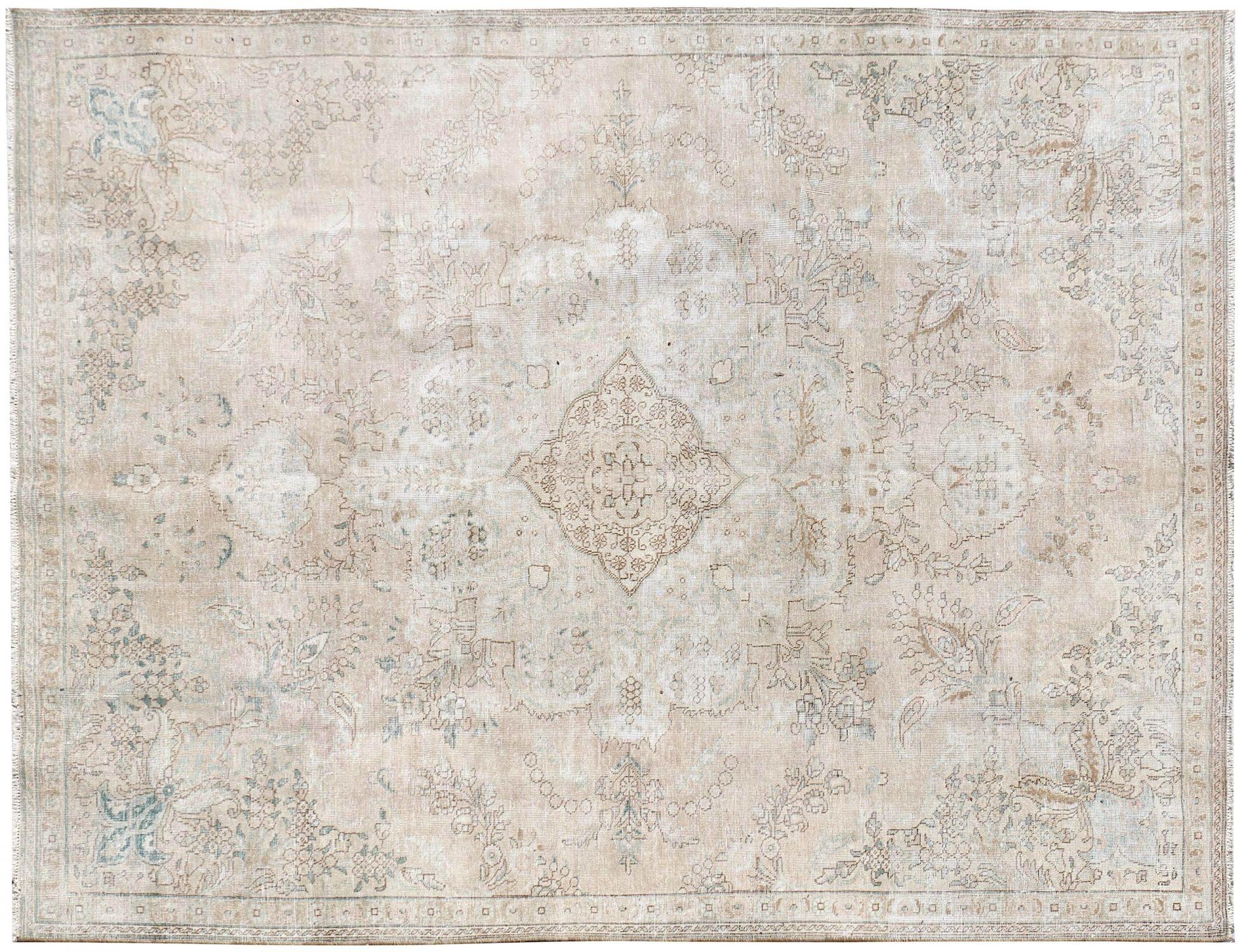 Persisk Vintagetæppe  beige <br/>317 x 230 cm