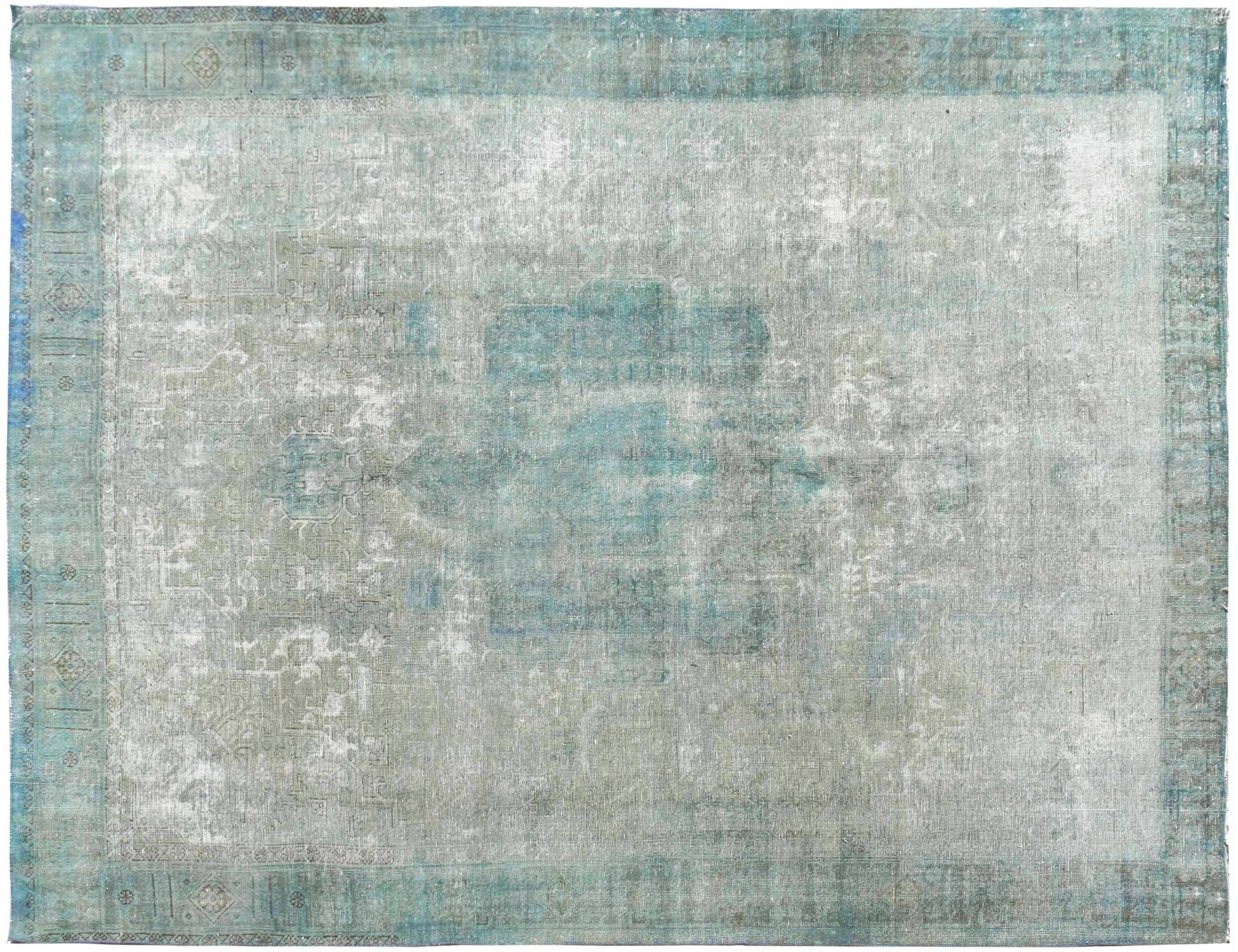 Persischer Vintage Teppich  blau <br/>385 x 295 cm