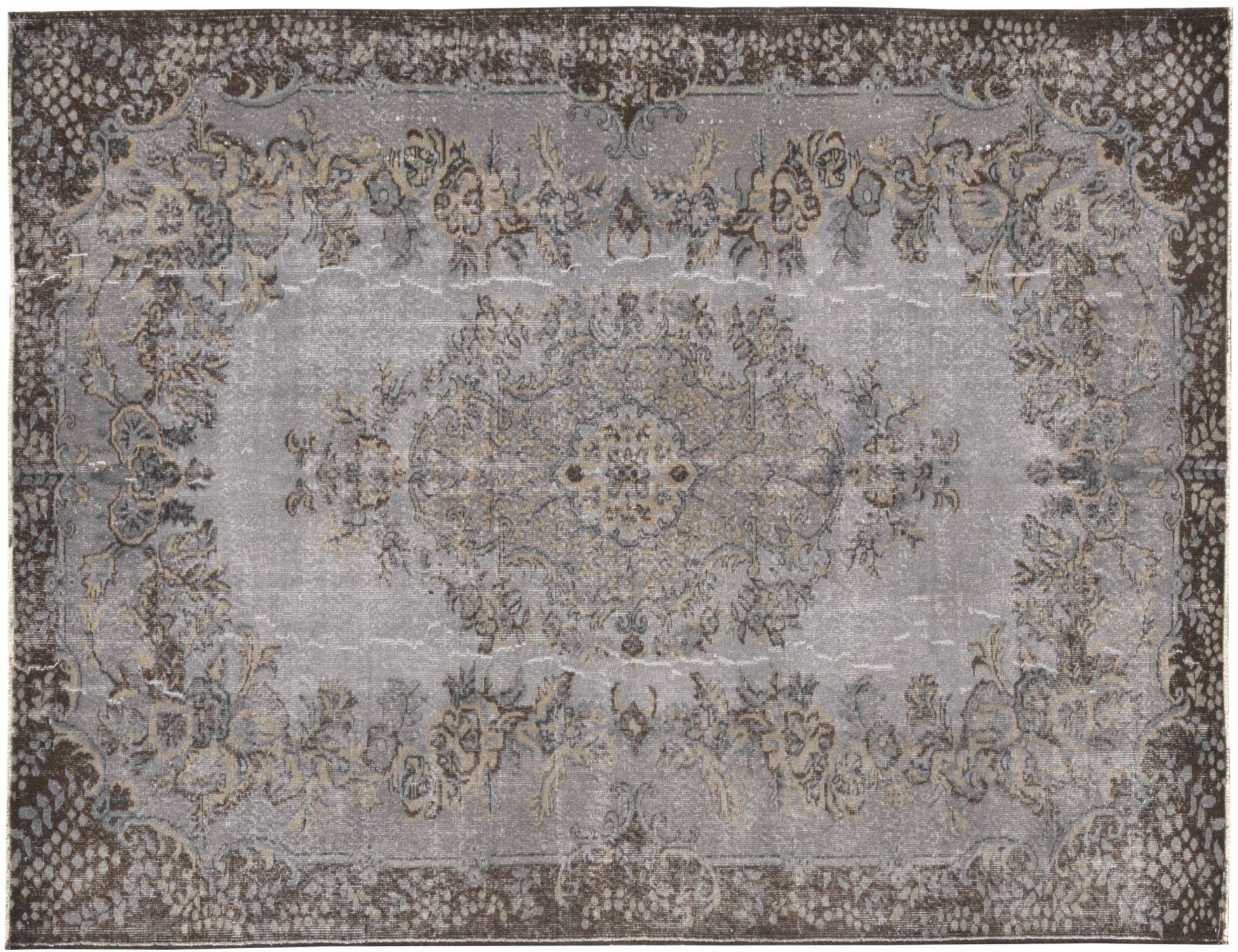Tappeto Vintage  grigio <br/>300 x 193 cm