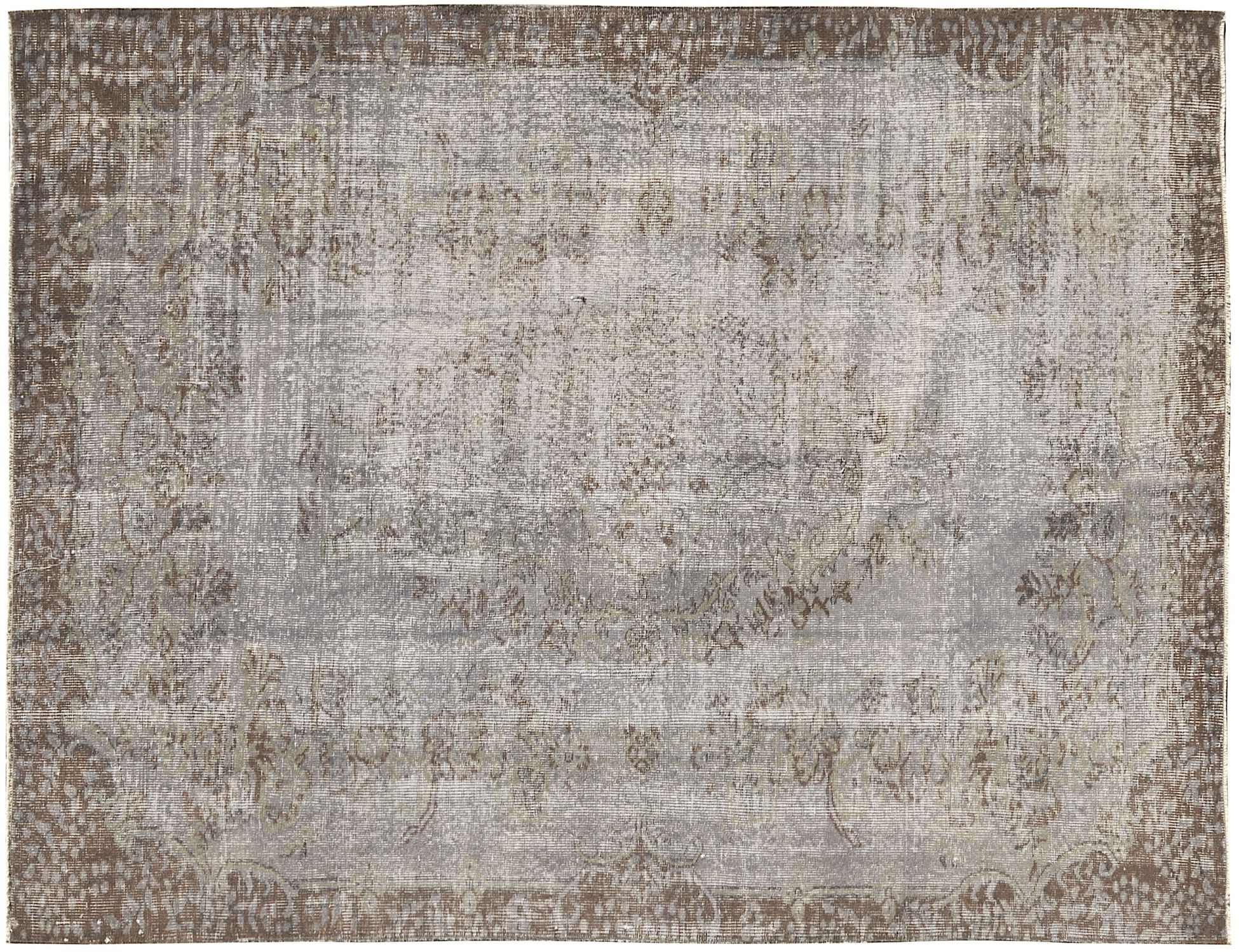 Tappeto Vintage  grigio <br/>275 x 175 cm