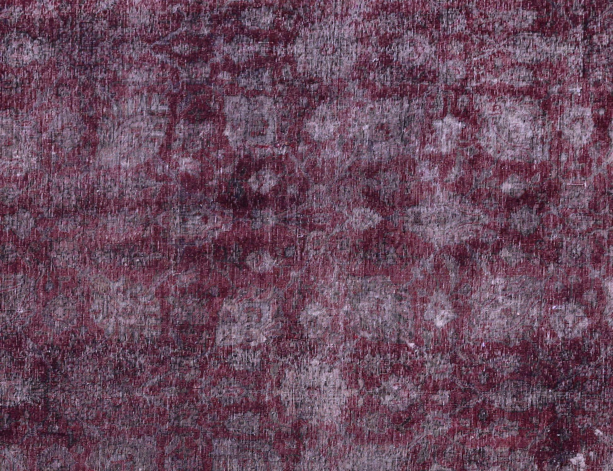 Vintage Teppich  lila <br/>305 x 250 cm