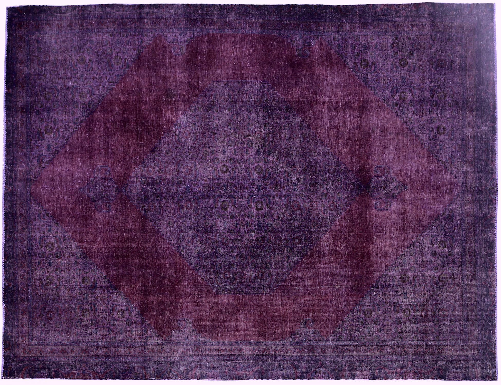 Vintage Teppich  lila <br/>323 x 227 cm