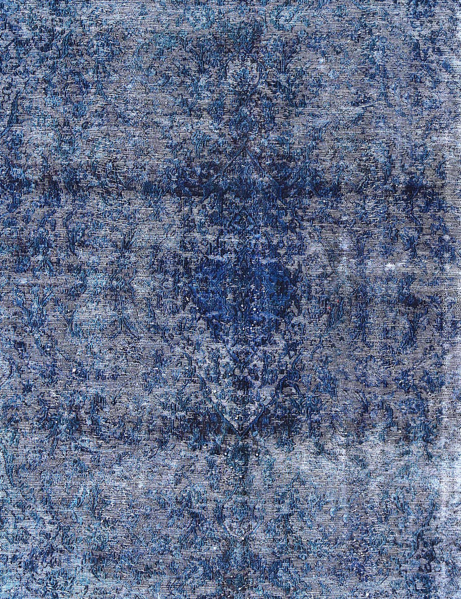 Vintage Teppich  blau <br/>376 x 278 cm