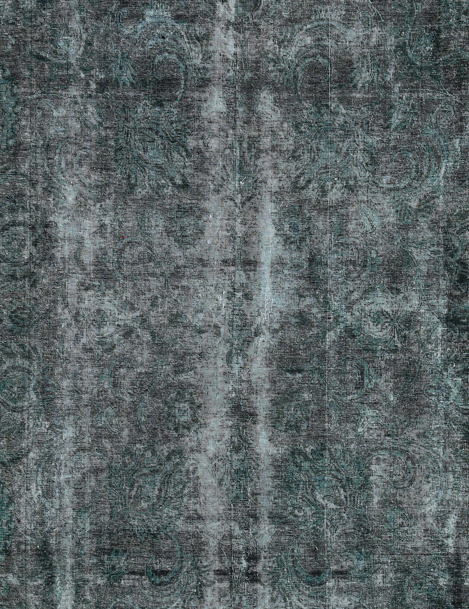 Vintage Teppich  grün <br/>290 x 245 cm