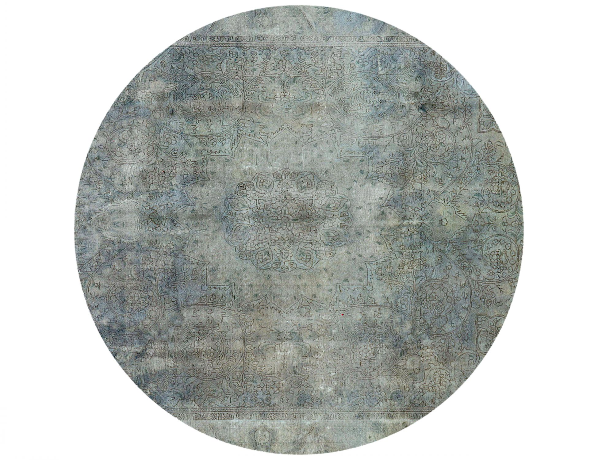 Tappeto Vintage  blu <br/>270 x 270 cm
