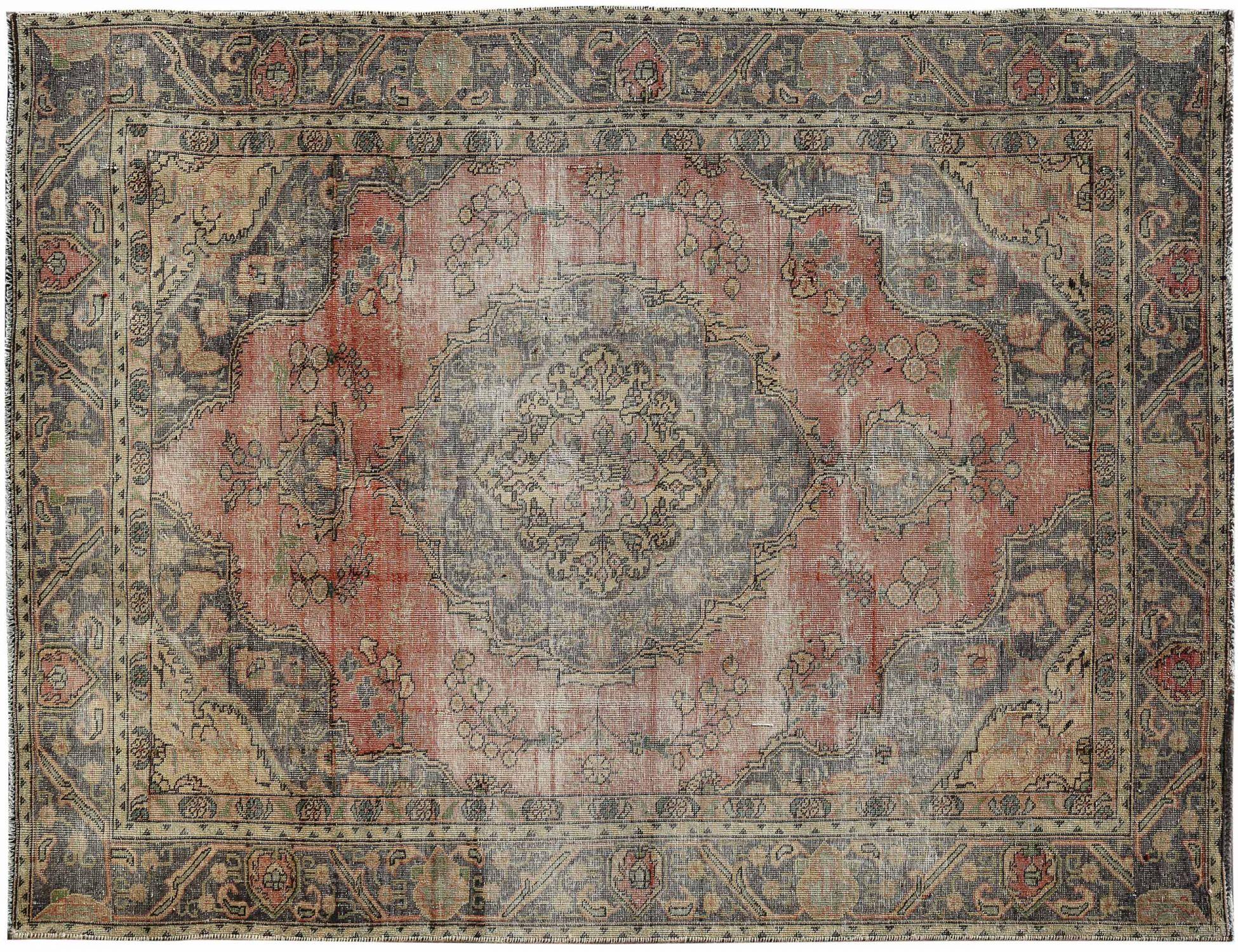 Retro Teppich  beige <br/>282 x 185 cm