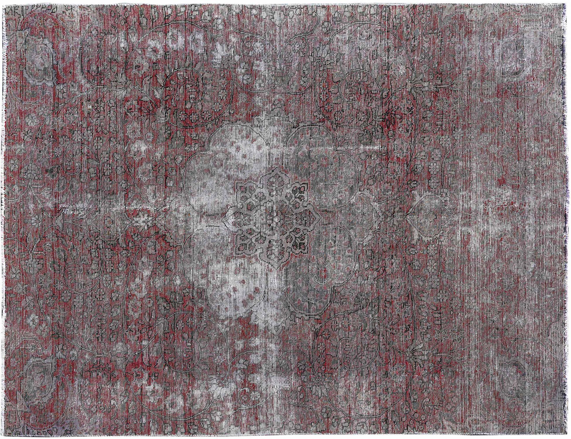 Retro Teppich  rot <br/>301 x 214 cm