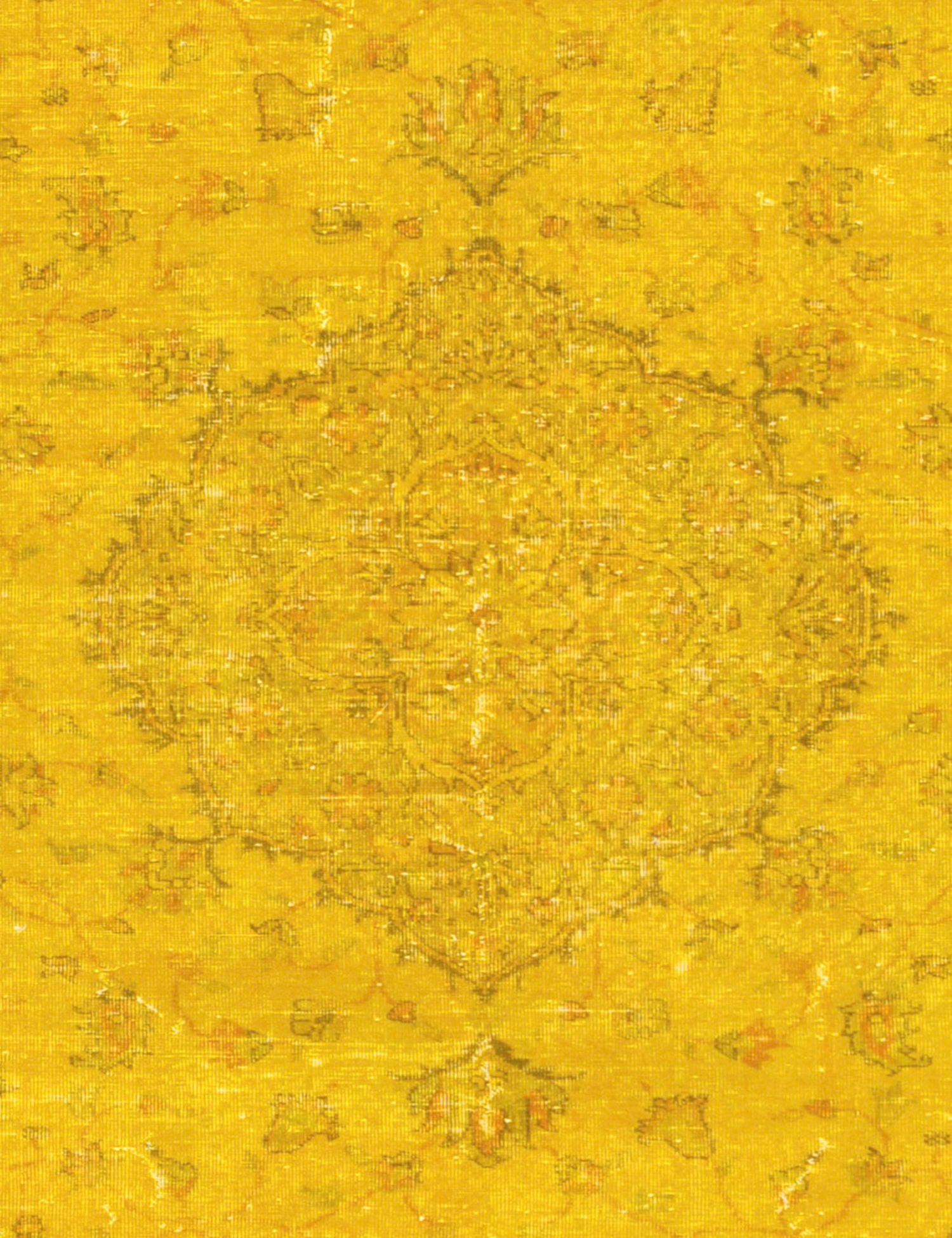 Tappeto Vintage  giallo <br/>283 x 176 cm