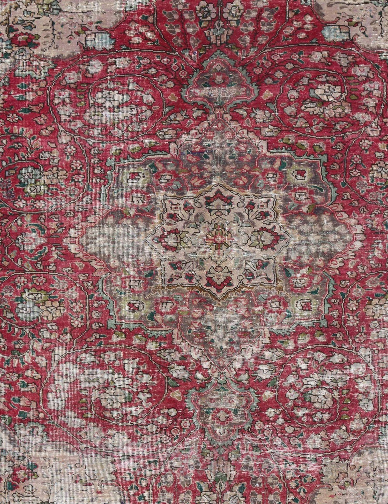 Retro Teppich  rot <br/>289 x 185 cm