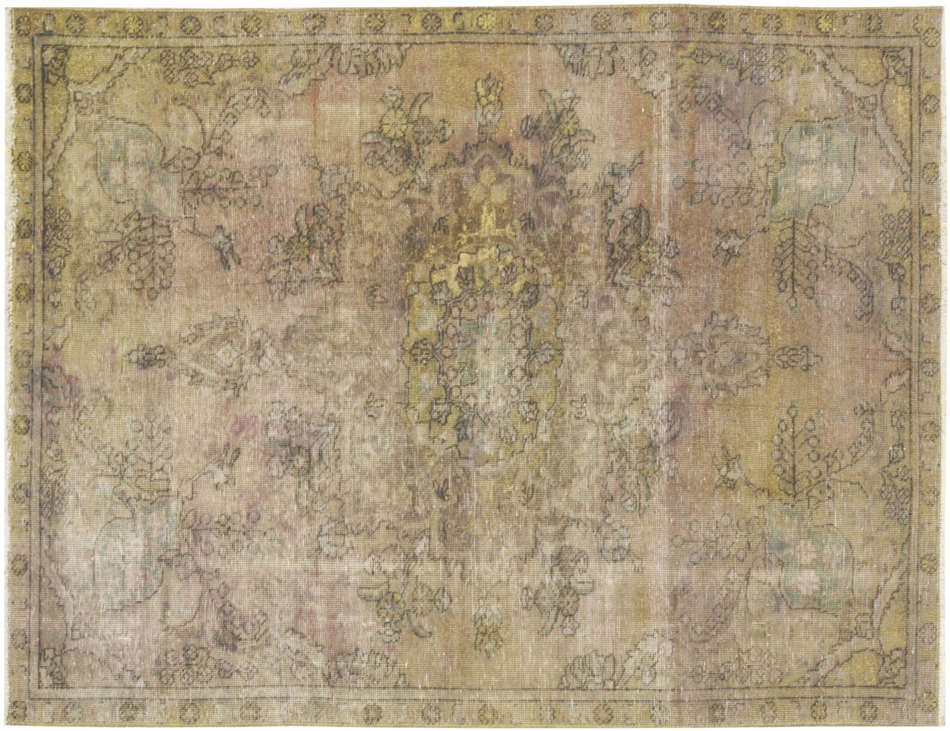 Tappeto Vintage  giallo <br/>245 x 153 cm