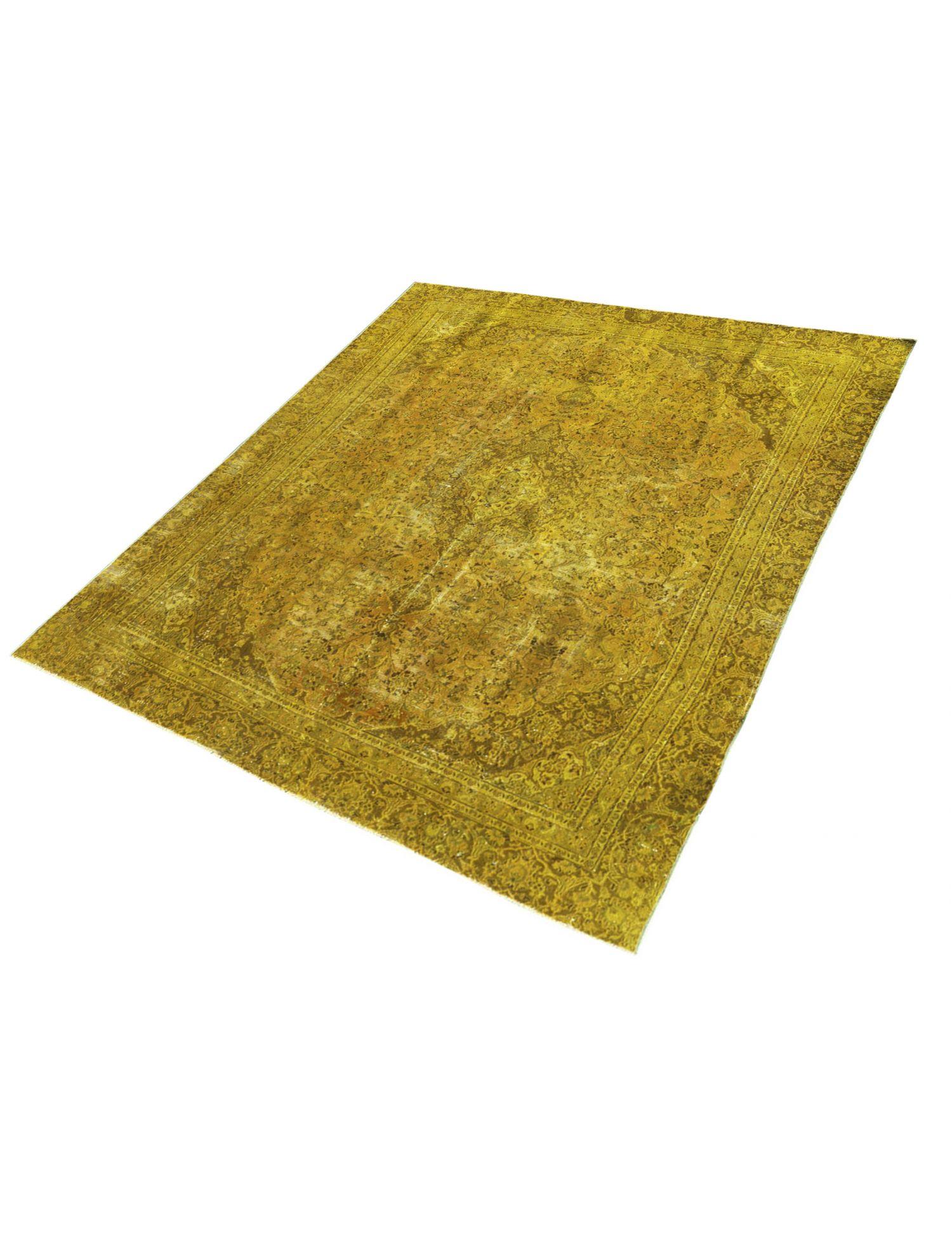 Vintage Teppich  gelb <br/>331 x 253 cm