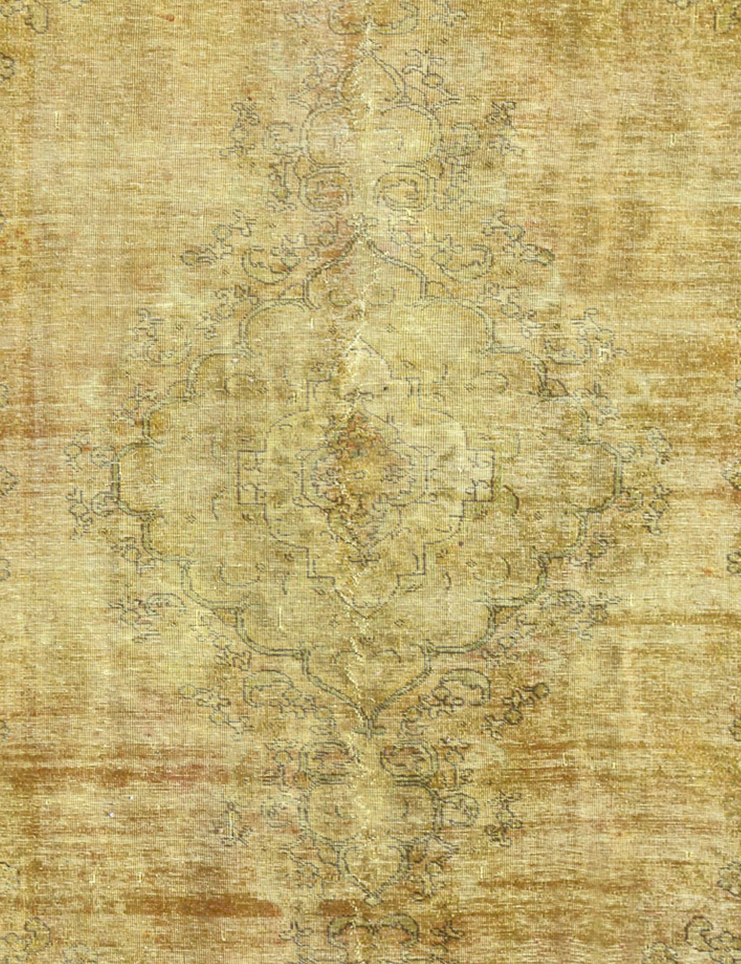 Tappeto Vintage  giallo <br/>277 x 174 cm