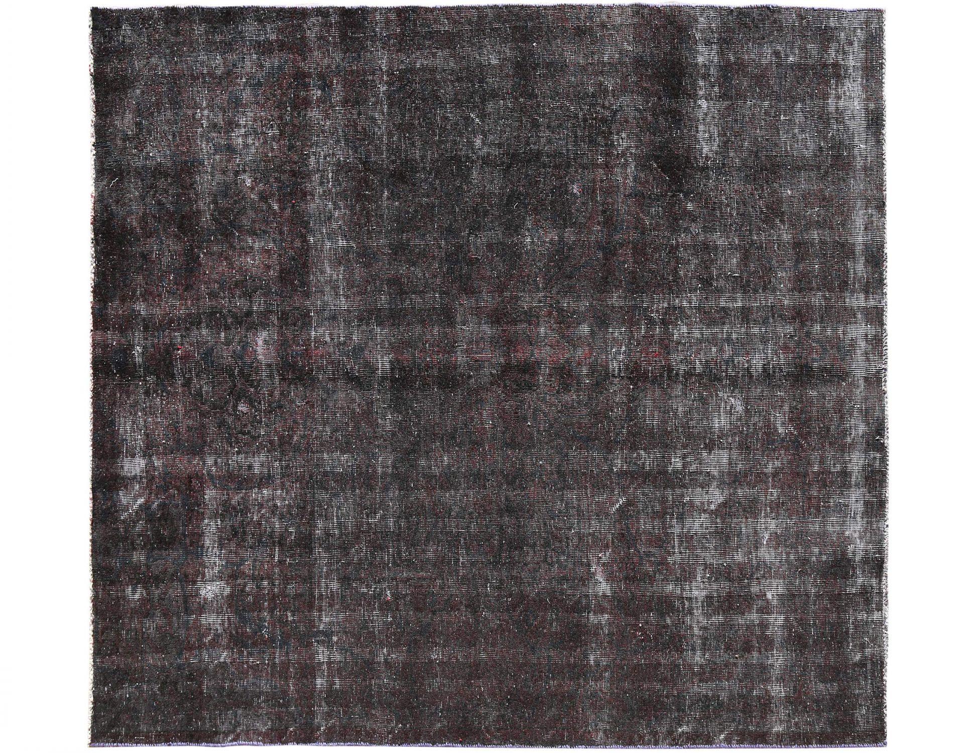 Tappeto Vintage  nero <br/>234 x 200 cm
