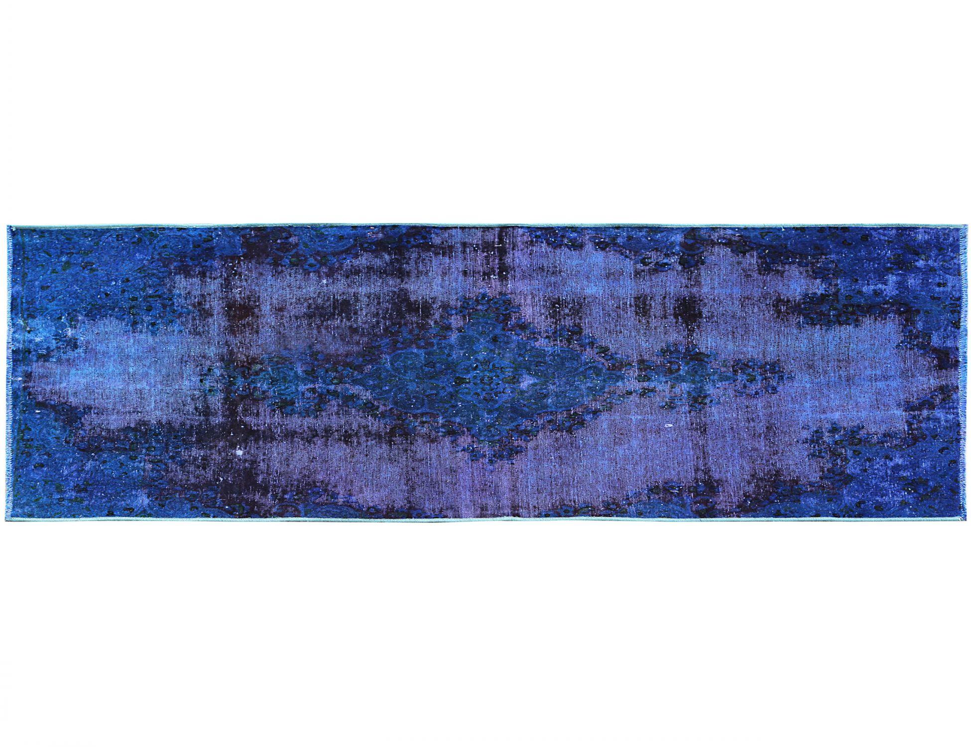 Tappeto Vintage  blu <br/>186 x 95 cm