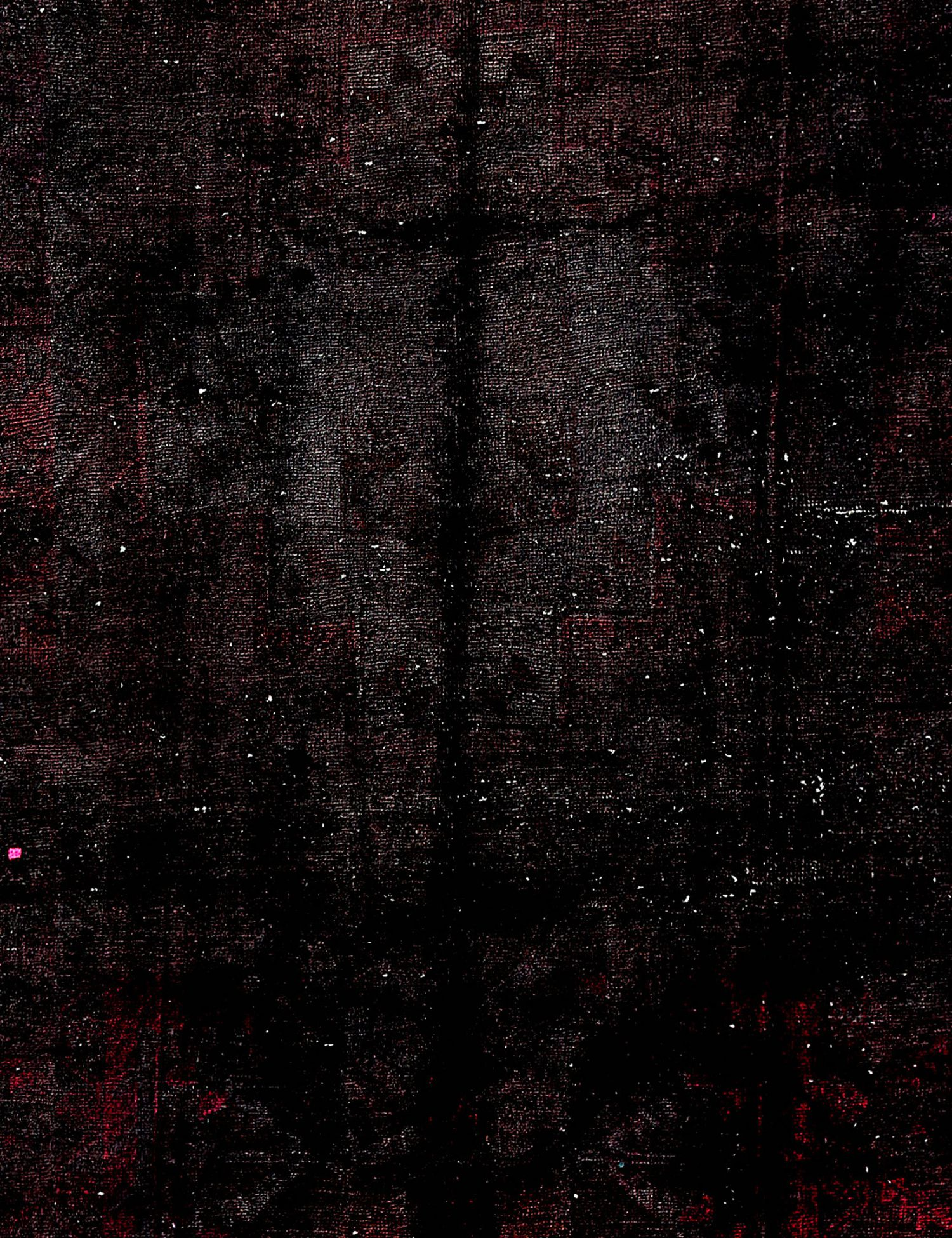 Vintage Teppich  schwarz <br/>252 x 152 cm