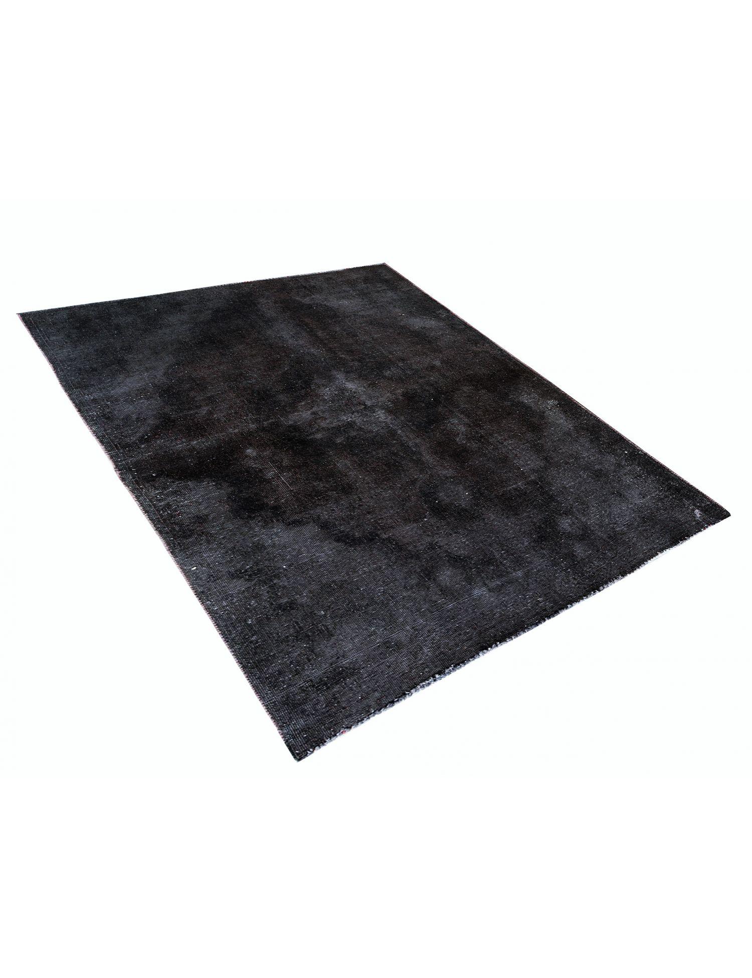 Vintage Teppich  schwarz <br/>240 x 145 cm