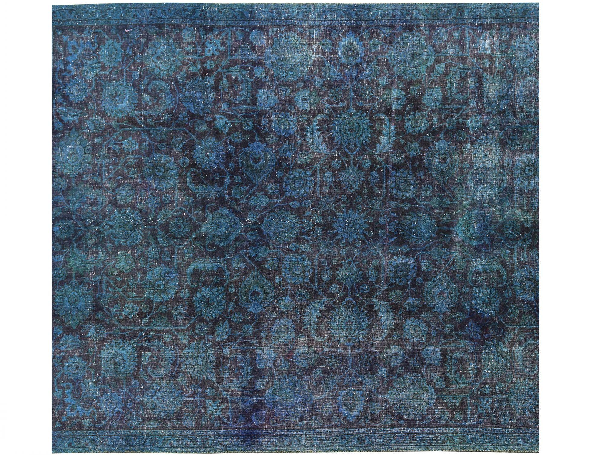 Tappeto Vintage  turchese <br/>252 x 220 cm
