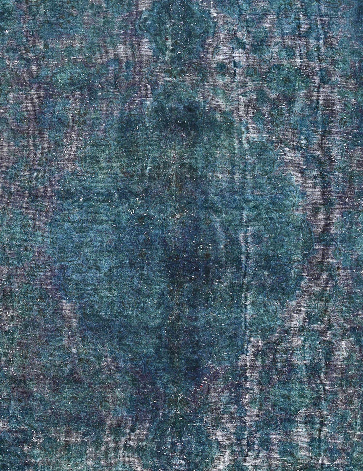 Vintage Teppich  grün <br/>304 x 212 cm