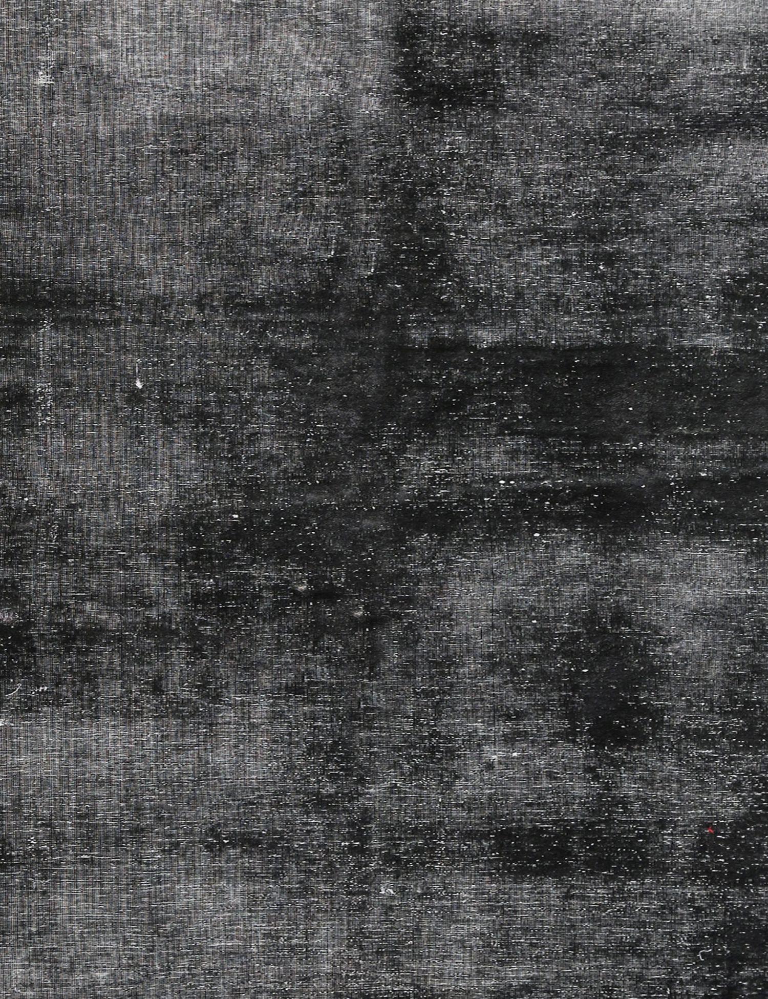 Vintage Teppich  schwarz <br/>194 x 168 cm