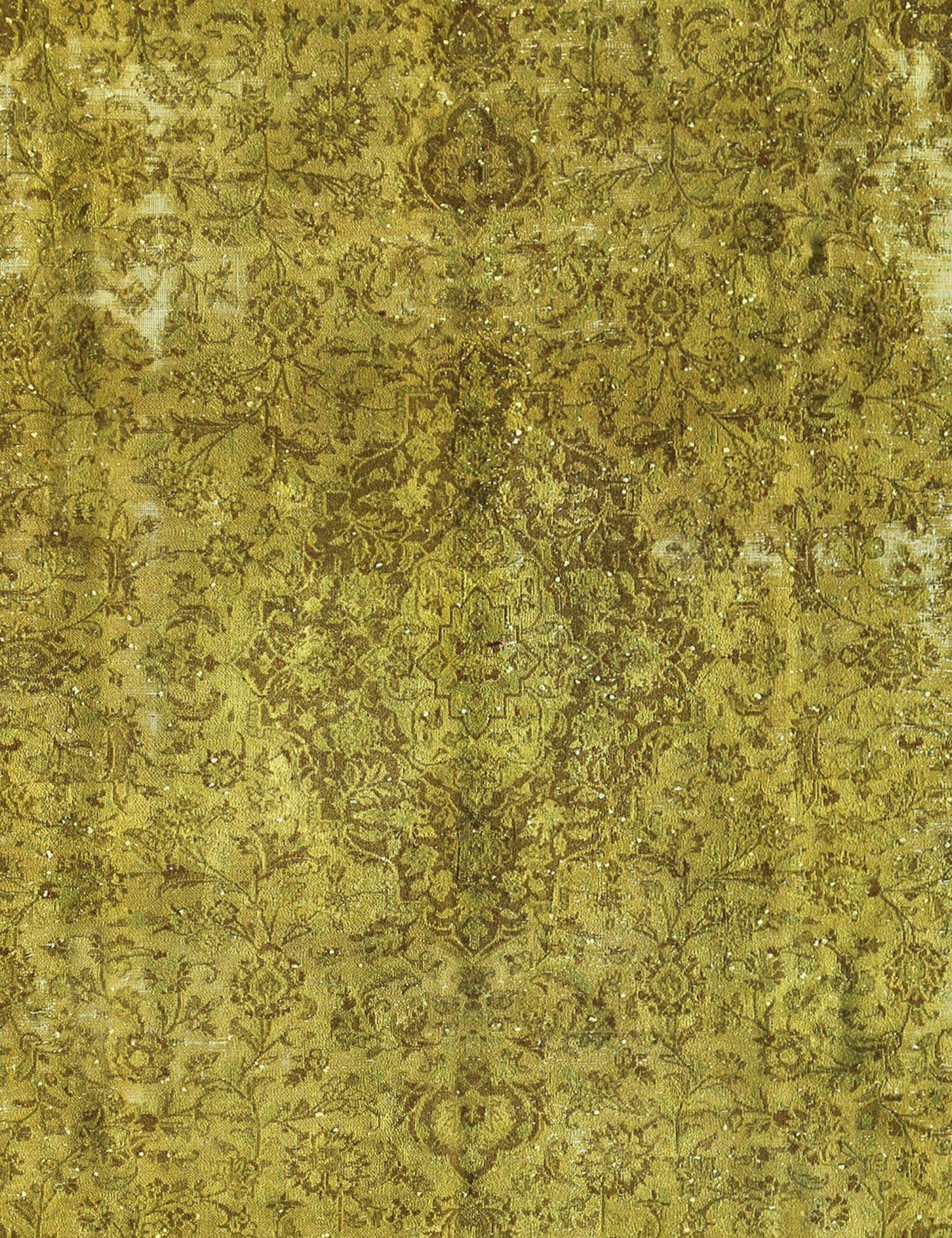 Tappeto Vintage  giallo <br/>308 x 213 cm