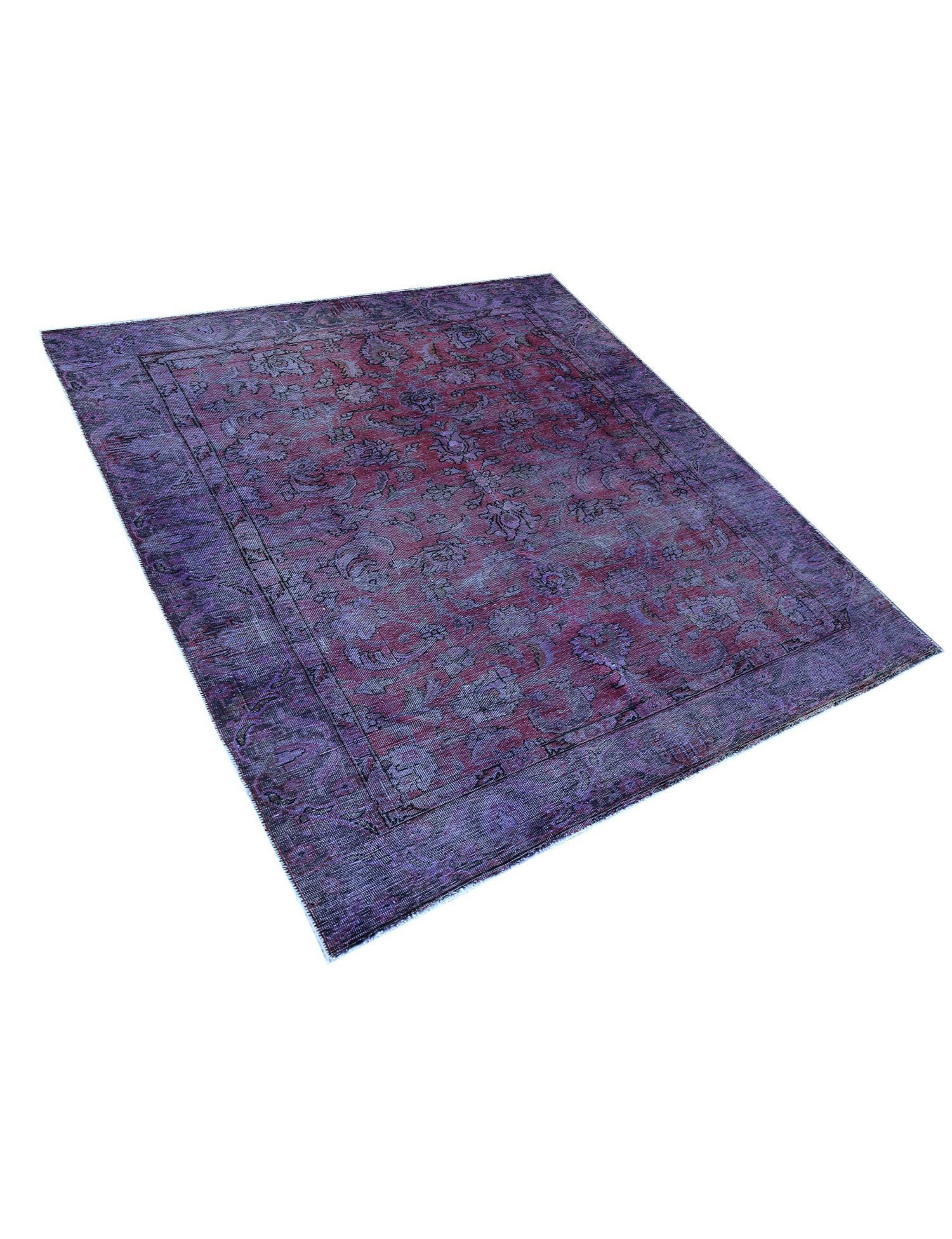 Vintage Teppich  lila <br/>236 x 187 cm