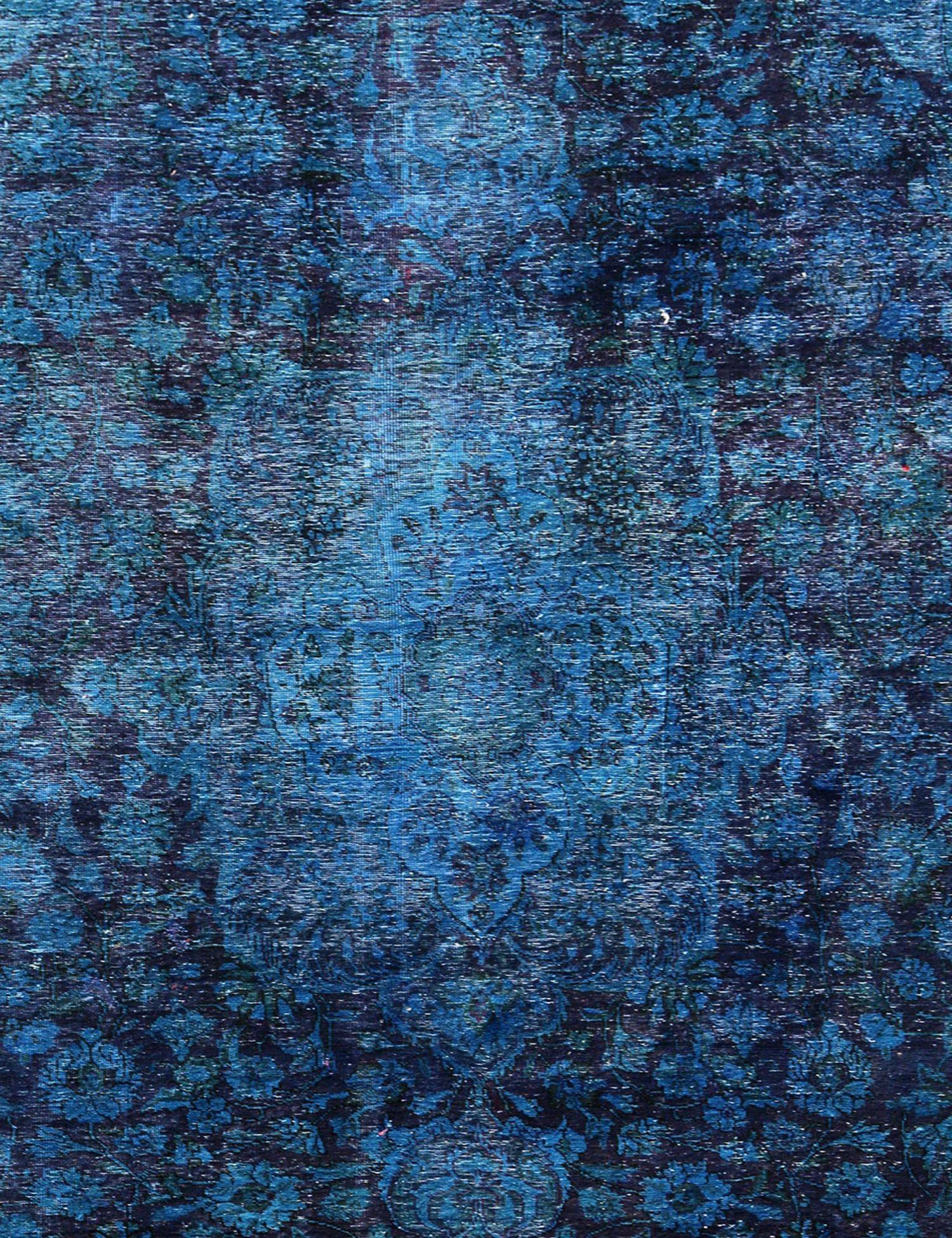 Tappeto Vintage  blu <br/>390 x 219 cm