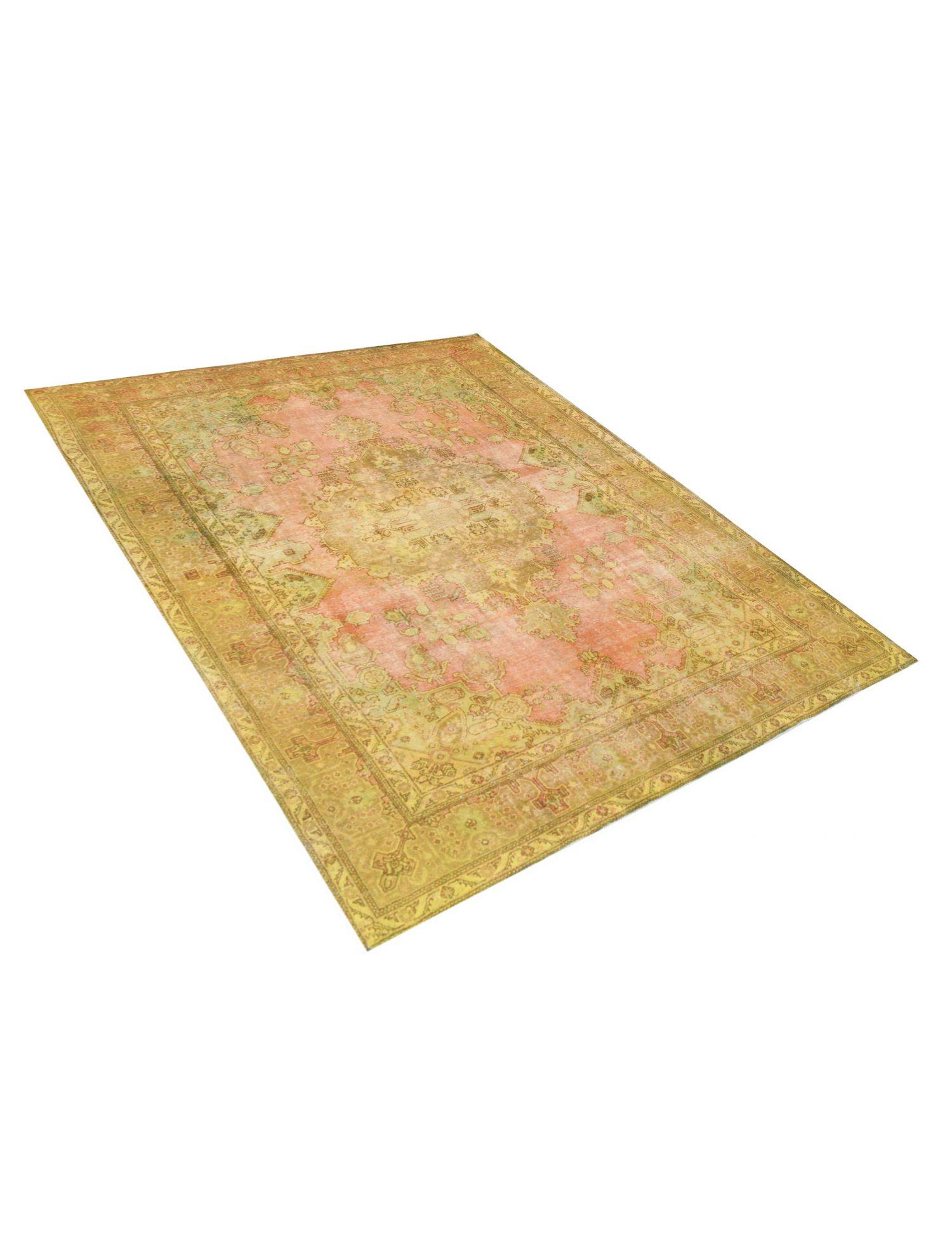 Vintage Teppich  gelb <br/>394 x 286 cm