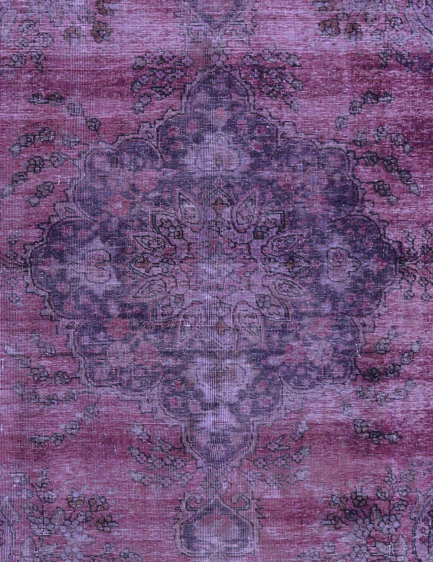 Vintage Teppich  lila <br/>275 x 184 cm