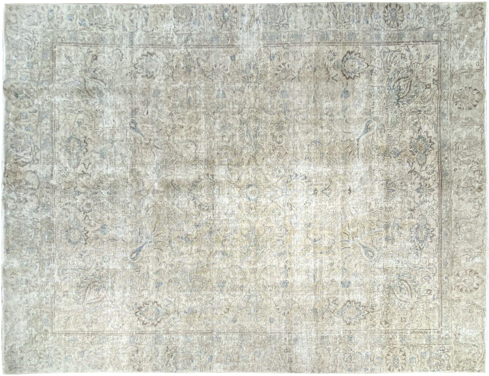 Tappeto Vintage  grigio <br/>368 x 254 cm