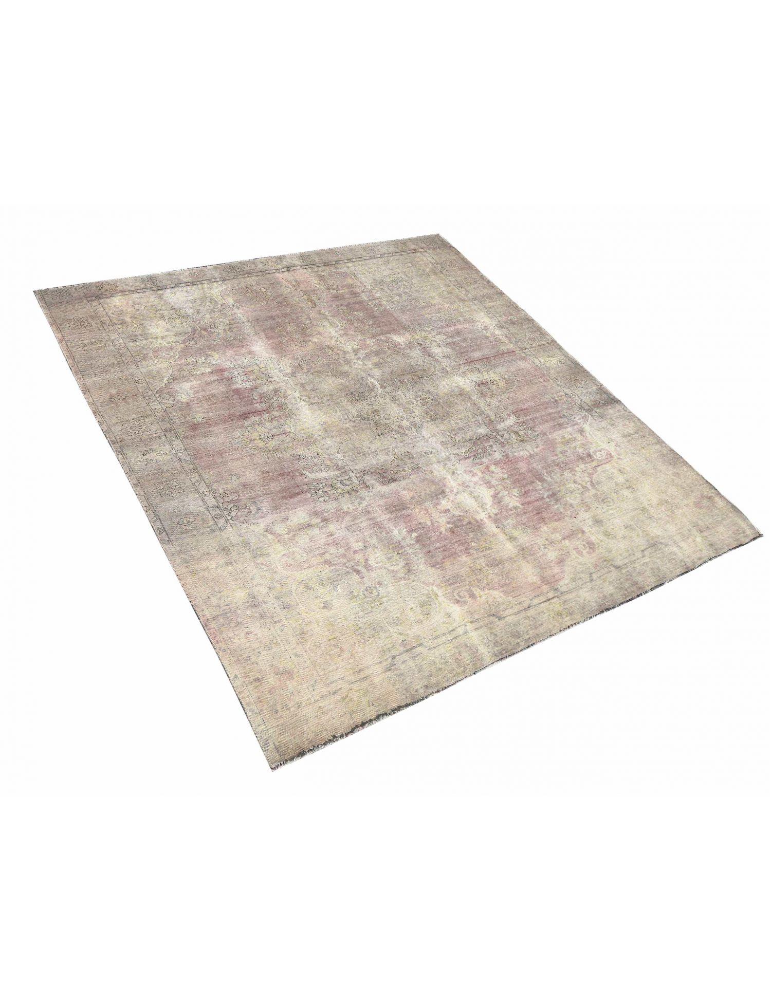 Retro Teppich  beige <br/>377 x 276 cm