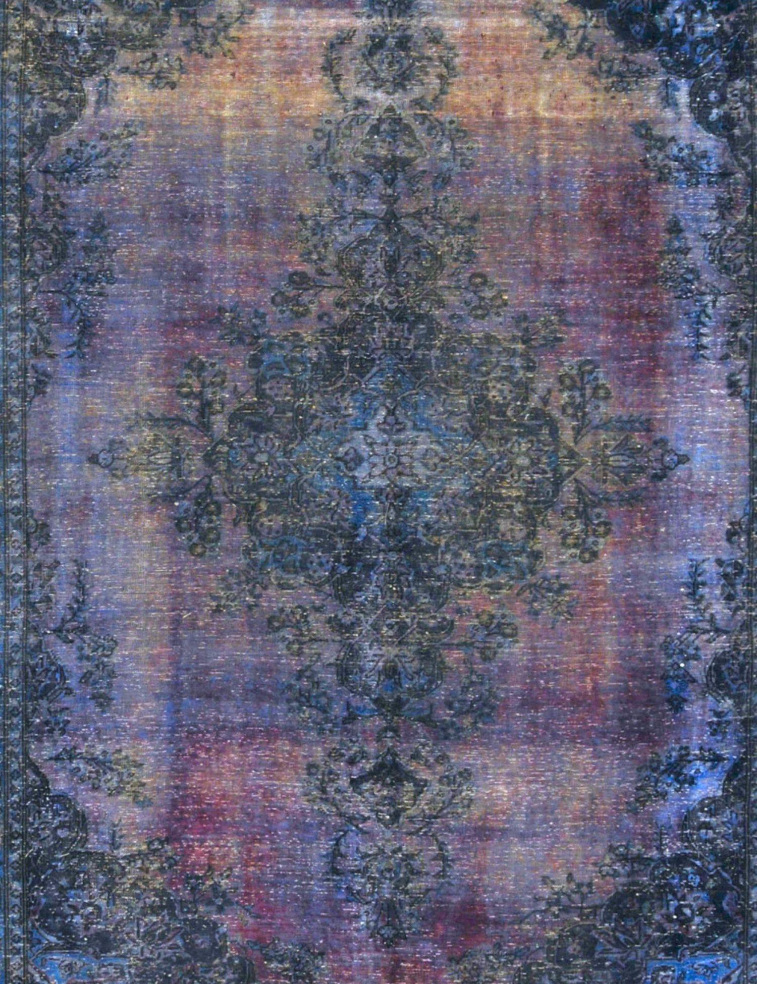Tappeto Vintage  blu <br/>358 x 278 cm