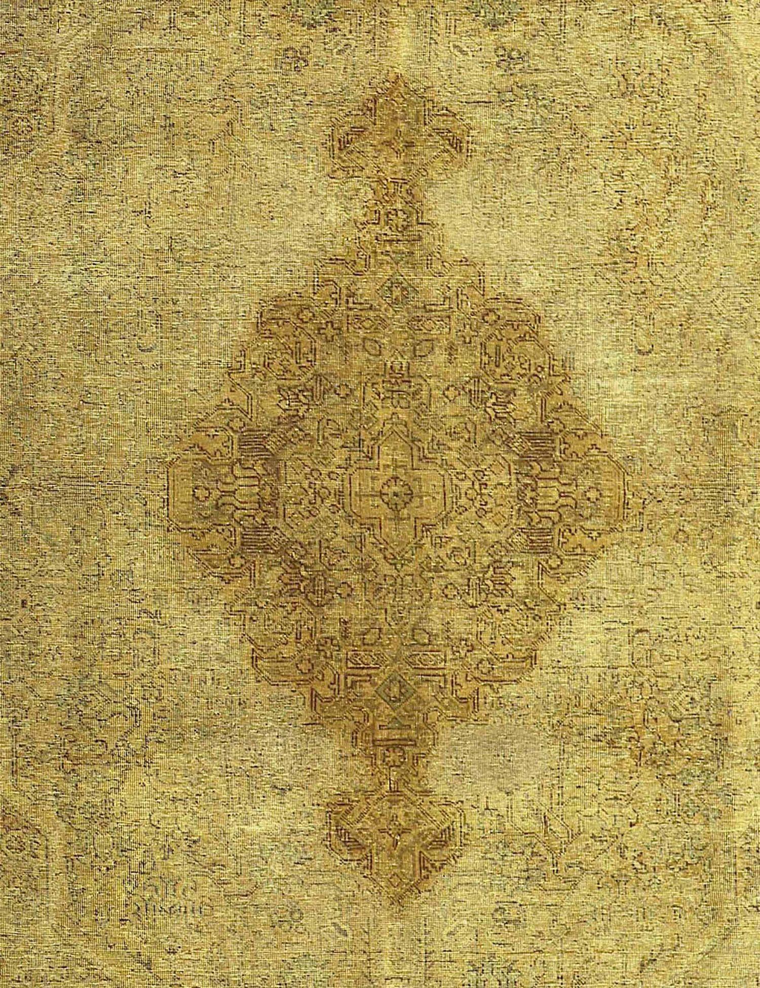 Tappeto Vintage  giallo <br/>381 x 287 cm