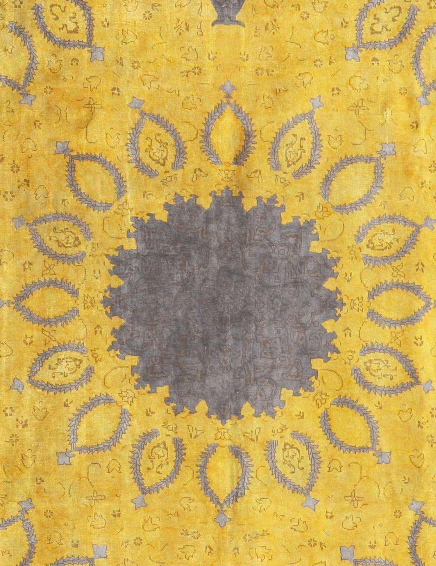 Vintage Teppich  gelb <br/>365 x 282 cm